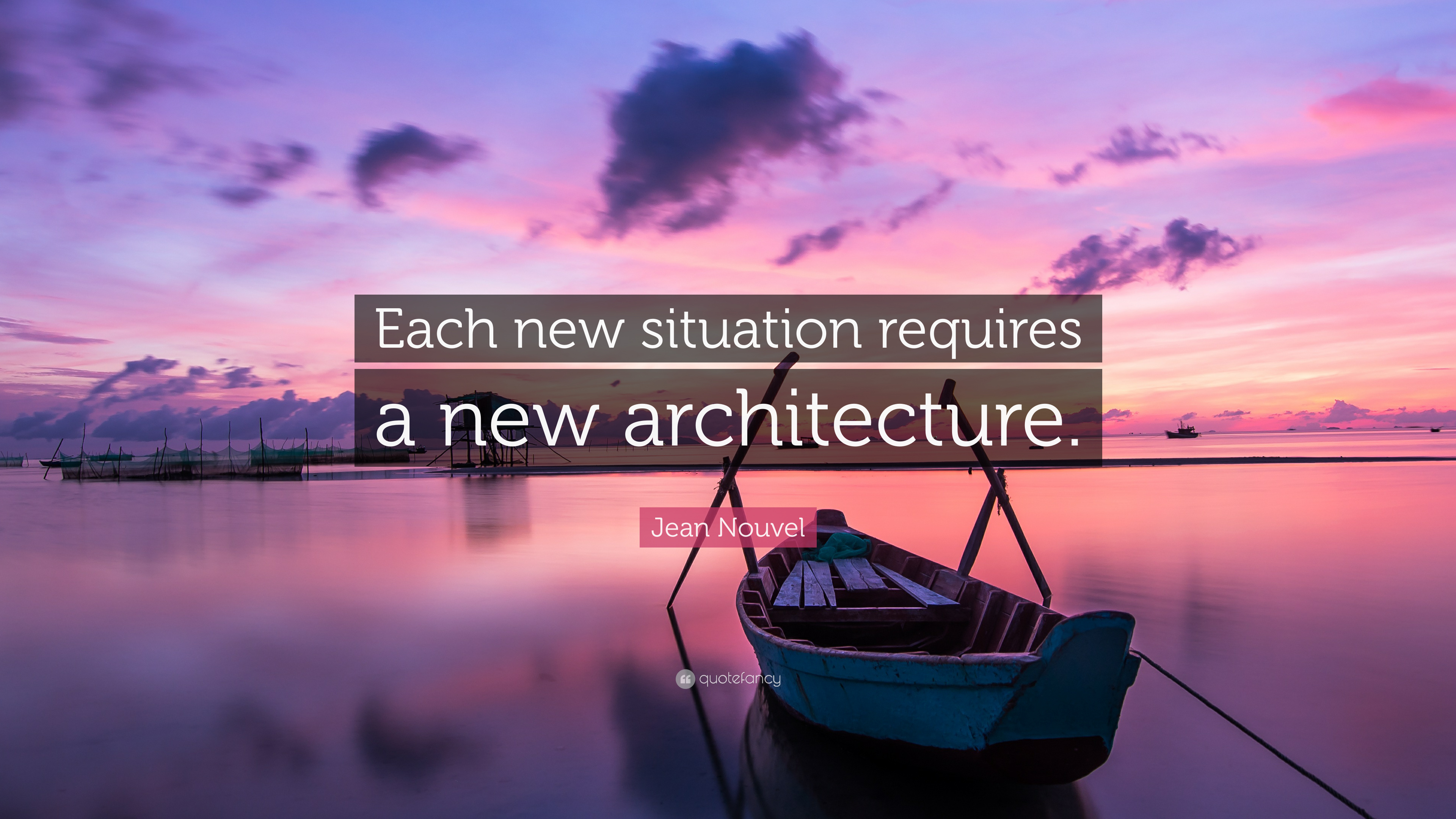 Afbeeldingsresultaat voor each new situation requires a new architecture