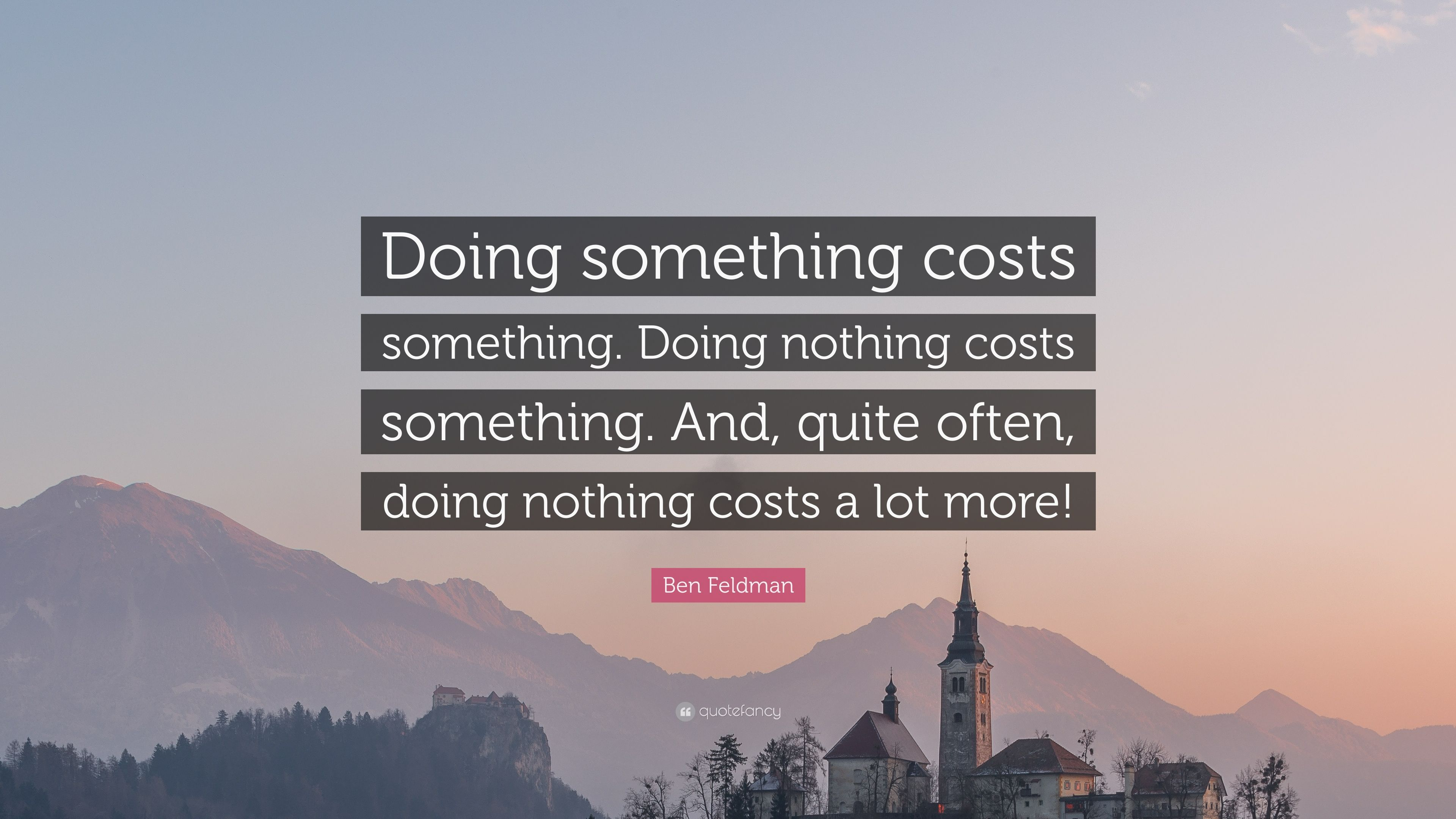 Image result for the cost of doing nothing