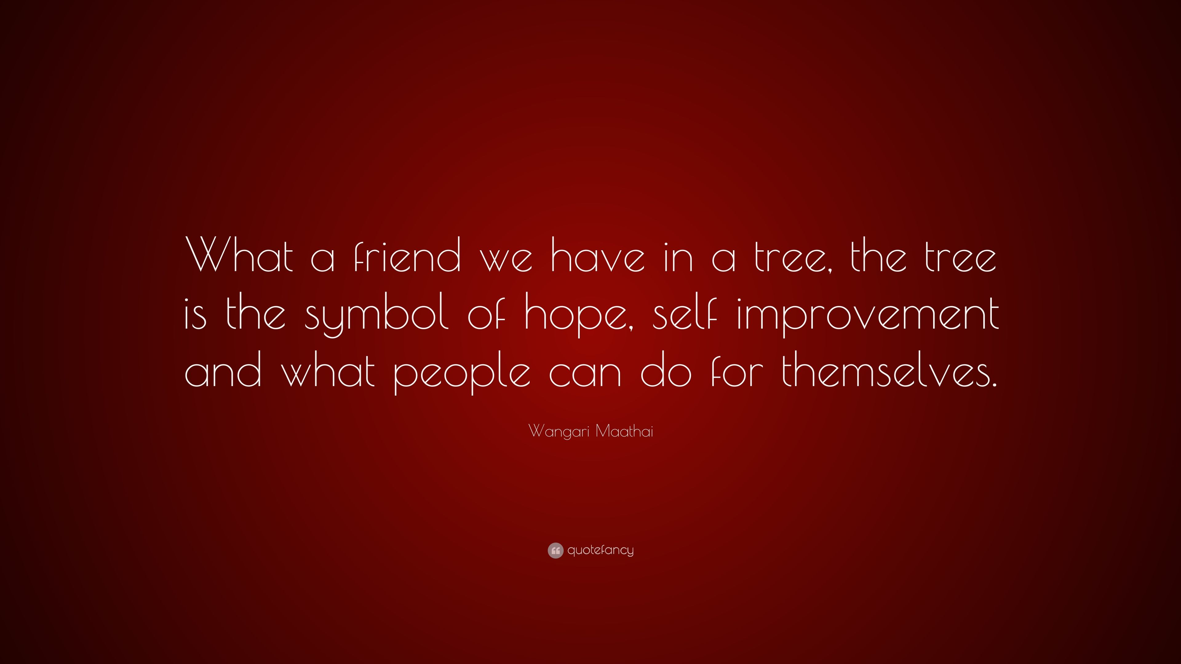 Wangari maathai quote what a friend we have in a tree the tree wangari maathai quote what a friend we have in a tree the tree biocorpaavc Images
