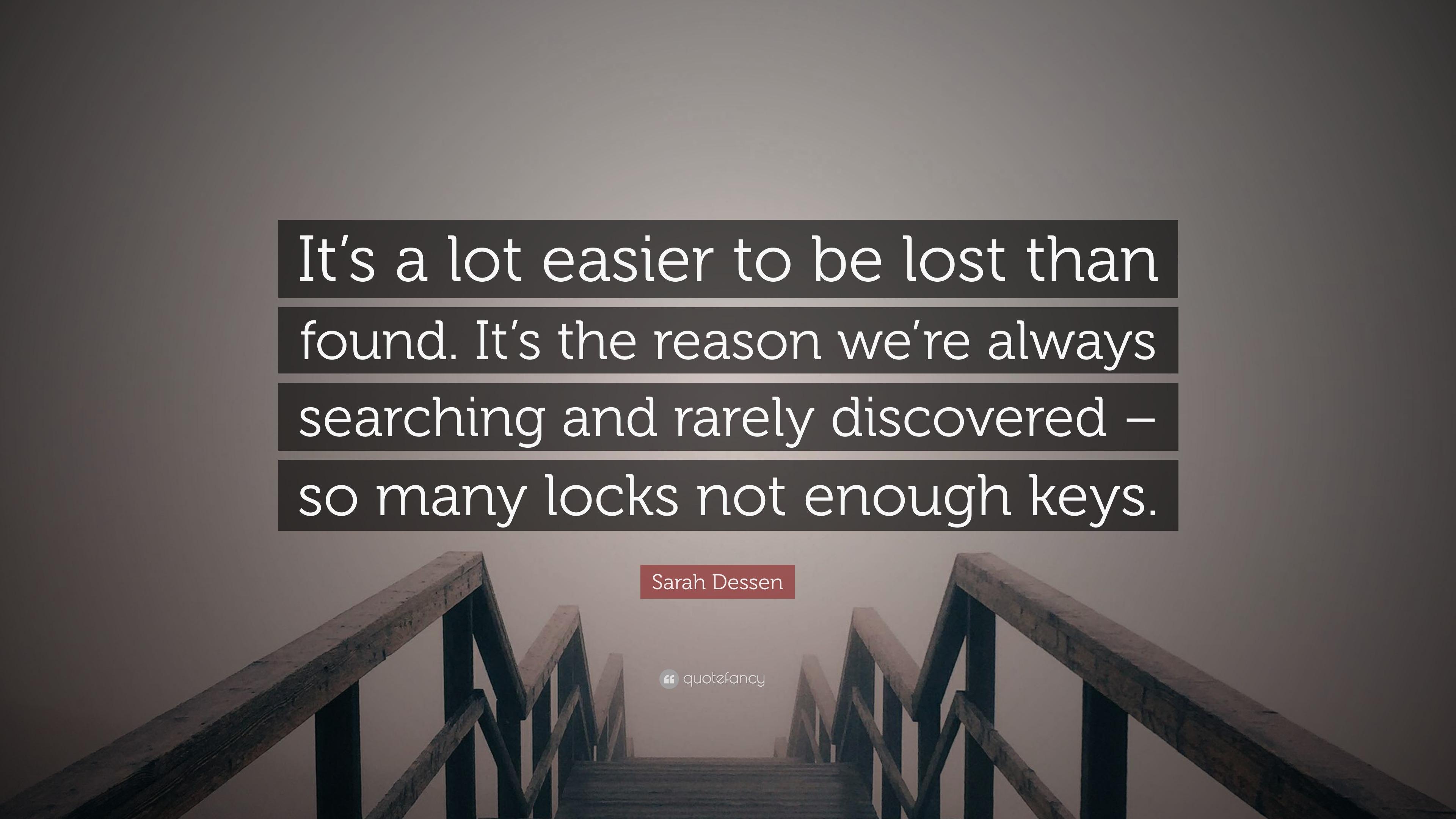 not enough keys