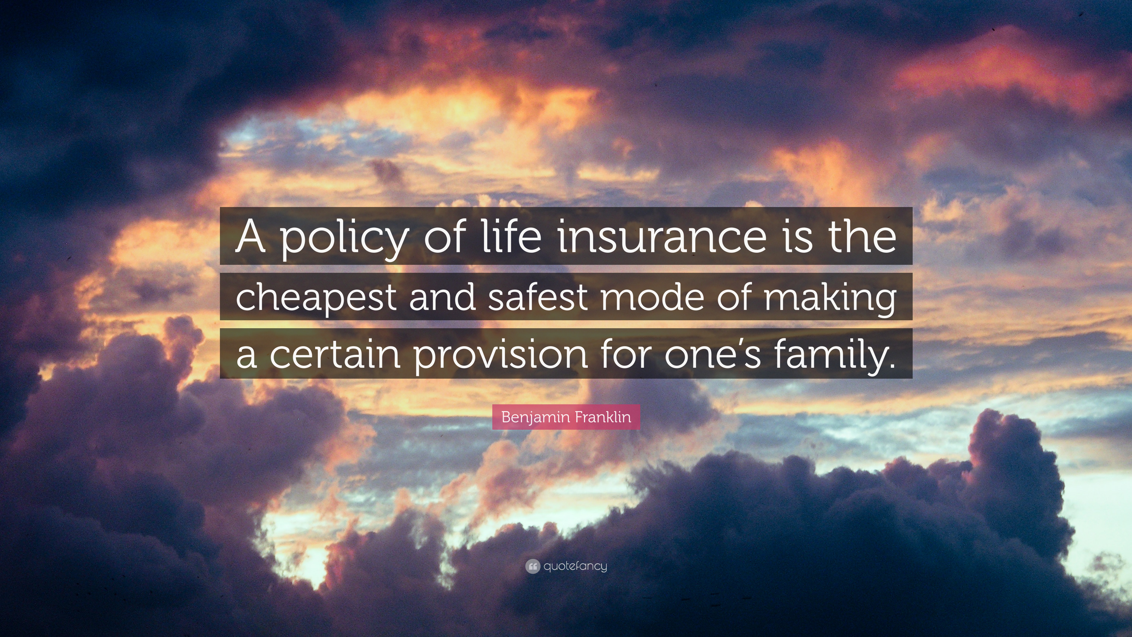 Insurance Life Quotes New Ben Franklin Life Insurance Quote