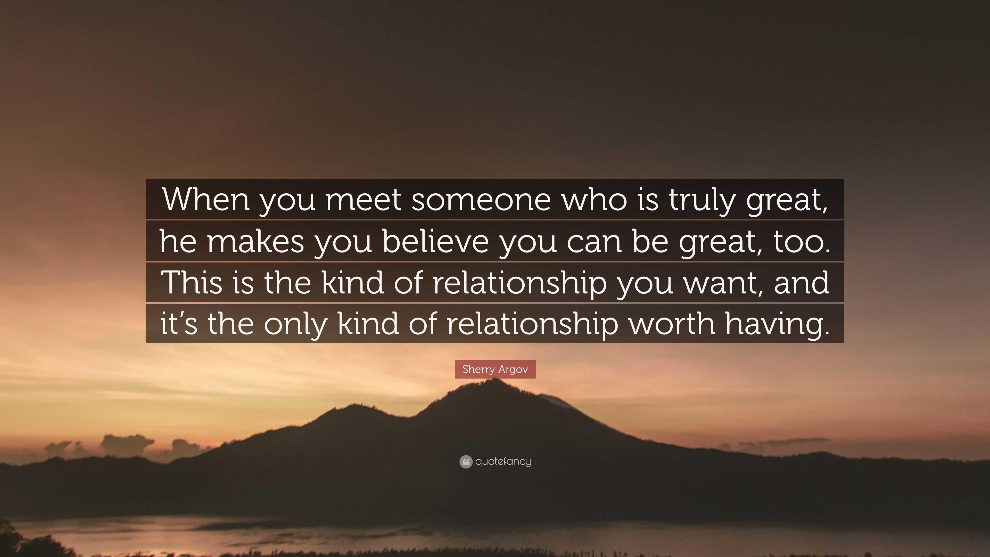 relationship worth it
