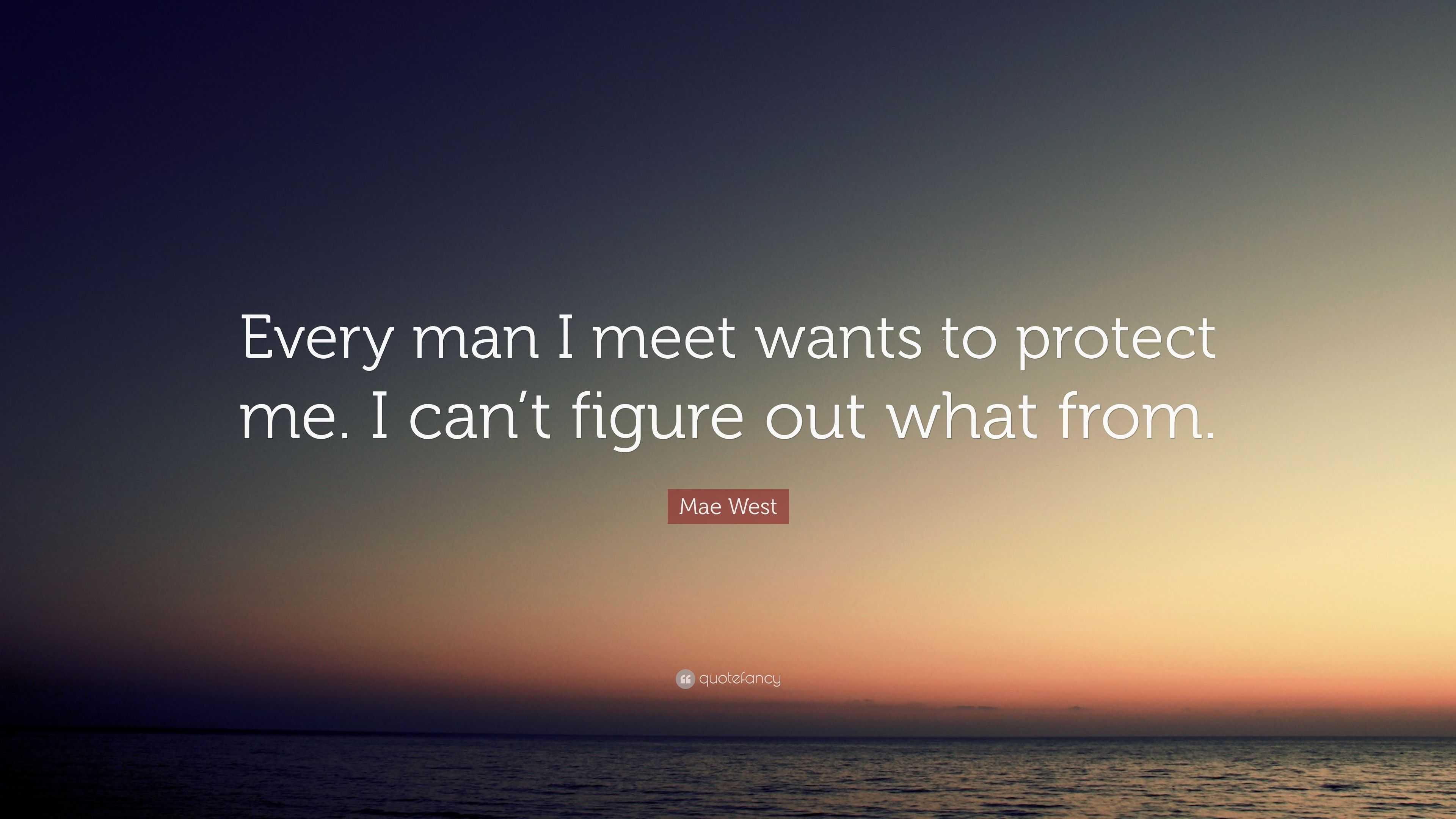Mann will mich treffen