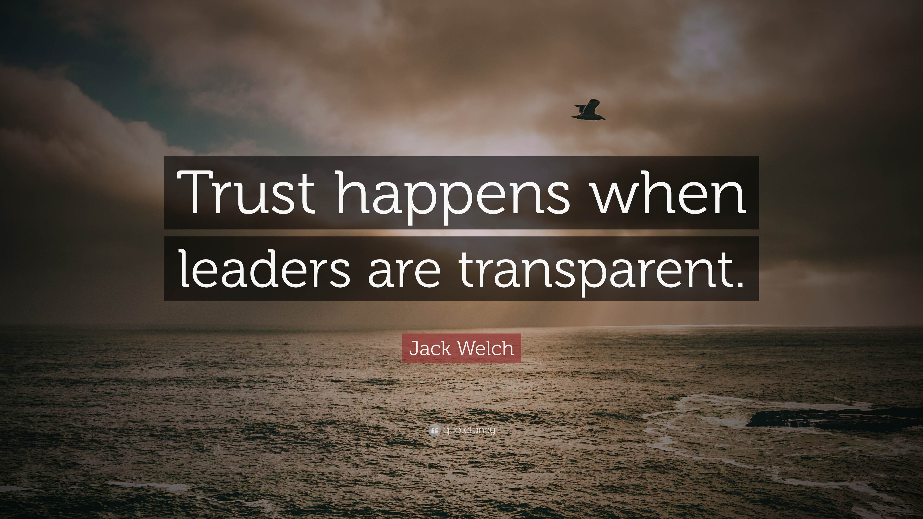 Jack Welch Quote Trust Happens When Leaders Are Transparent 7 Wallpapers Quotefancy