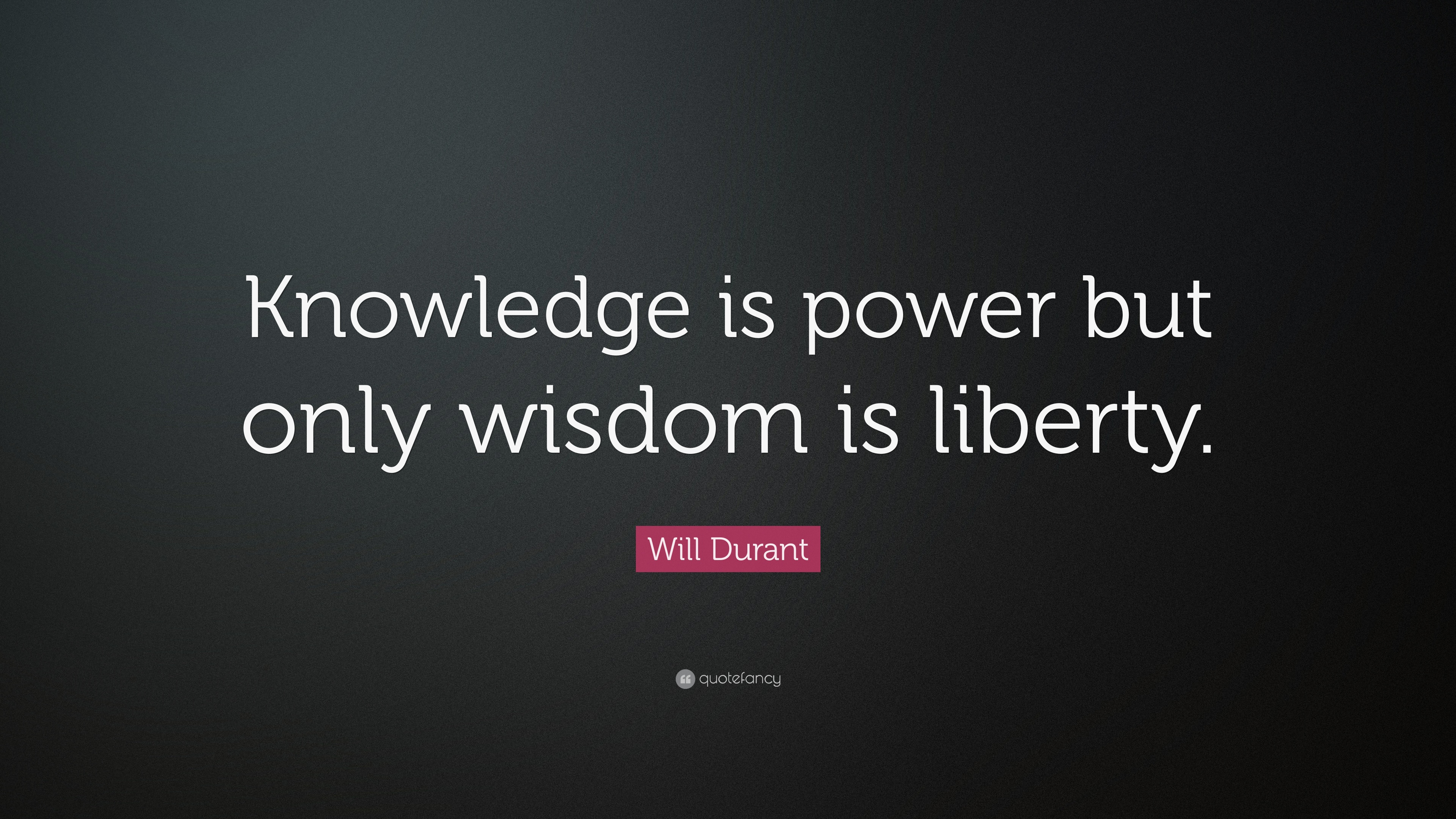 Download Knowledge Is Power Wallpaper Gallery