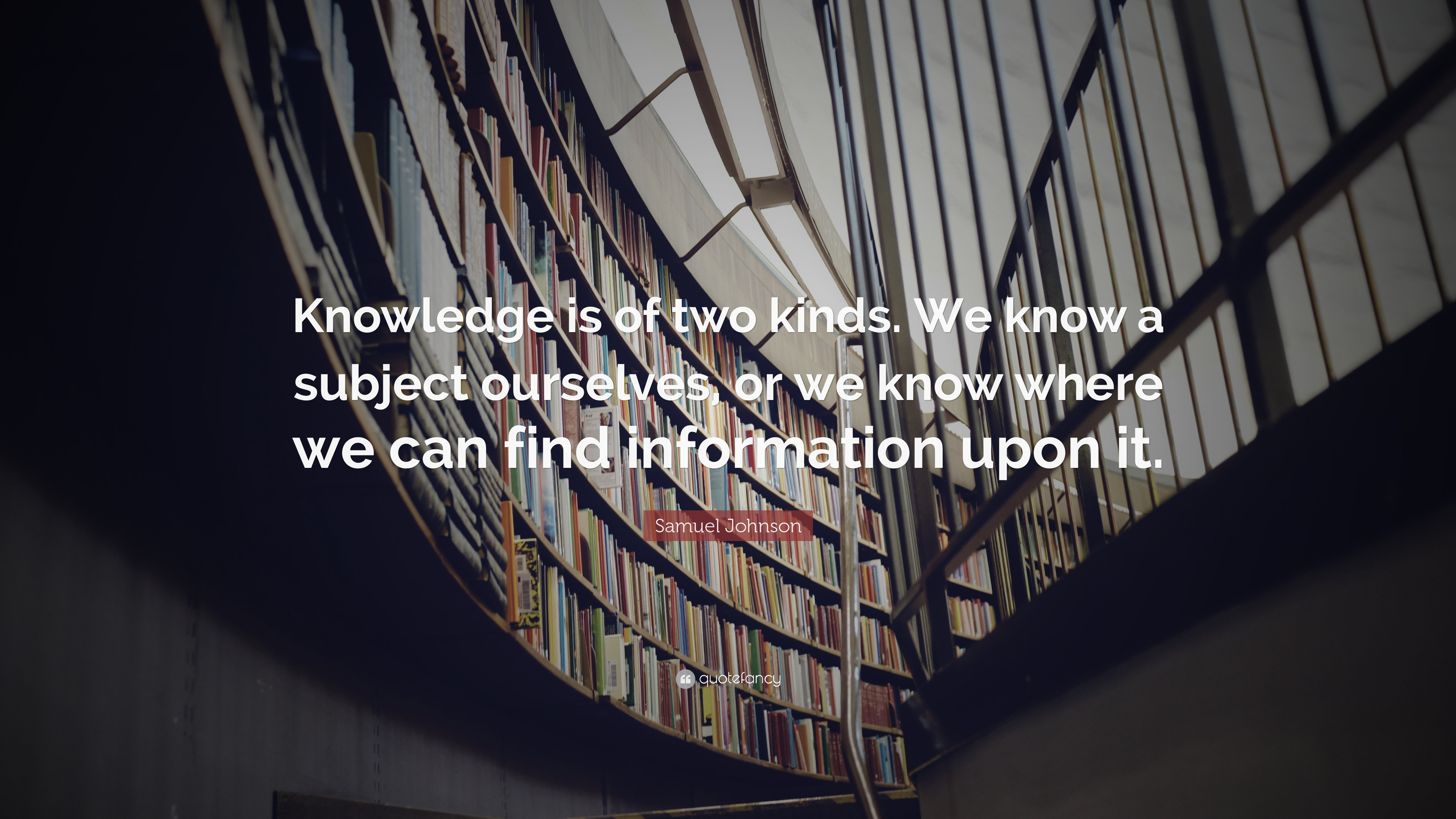 The Two Kinds of Knowledge