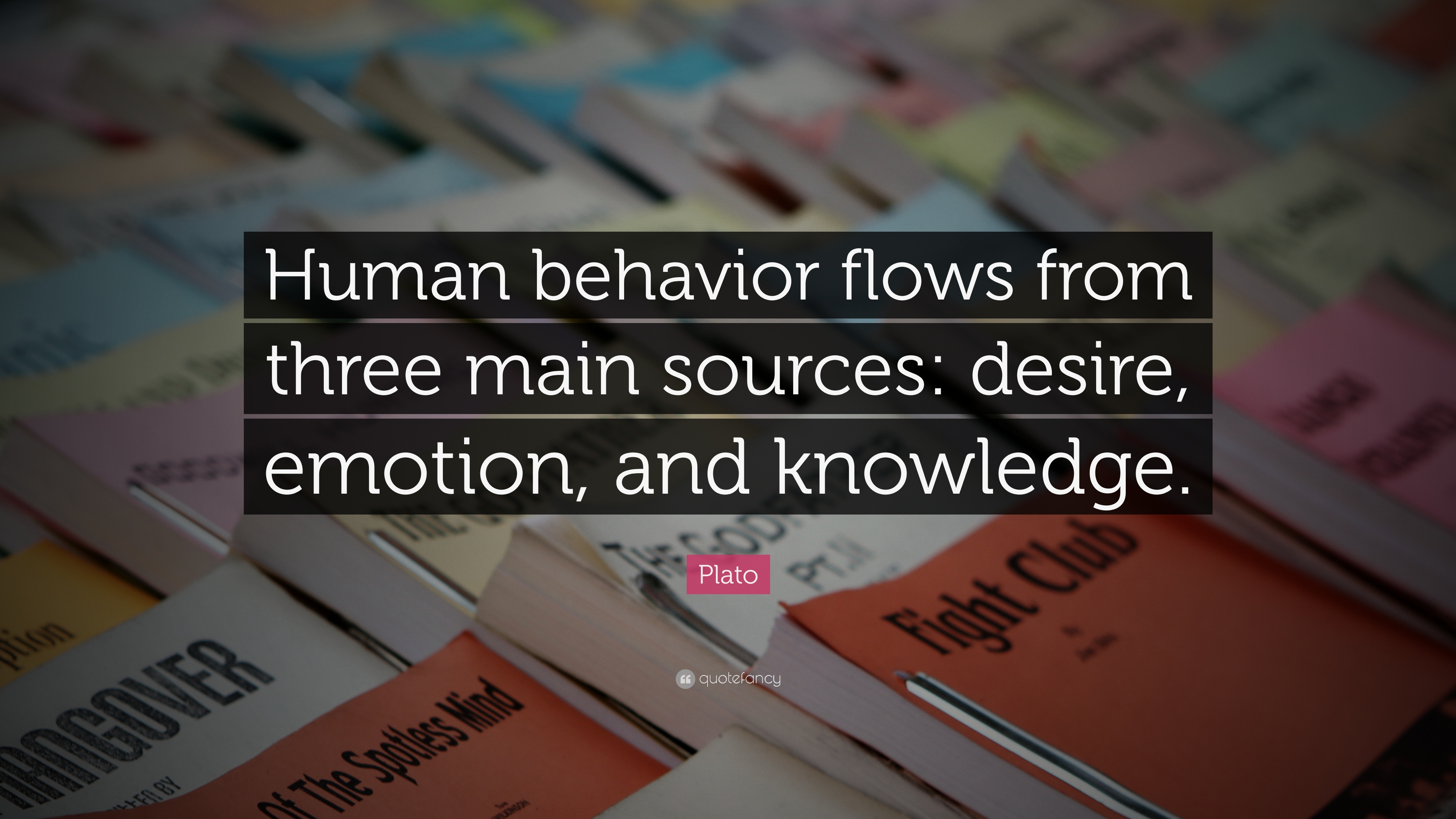 """Aristotle Human Behavior Quote Posters: Plato Quote: """"Human Behavior Flows From Three Main Sources"""
