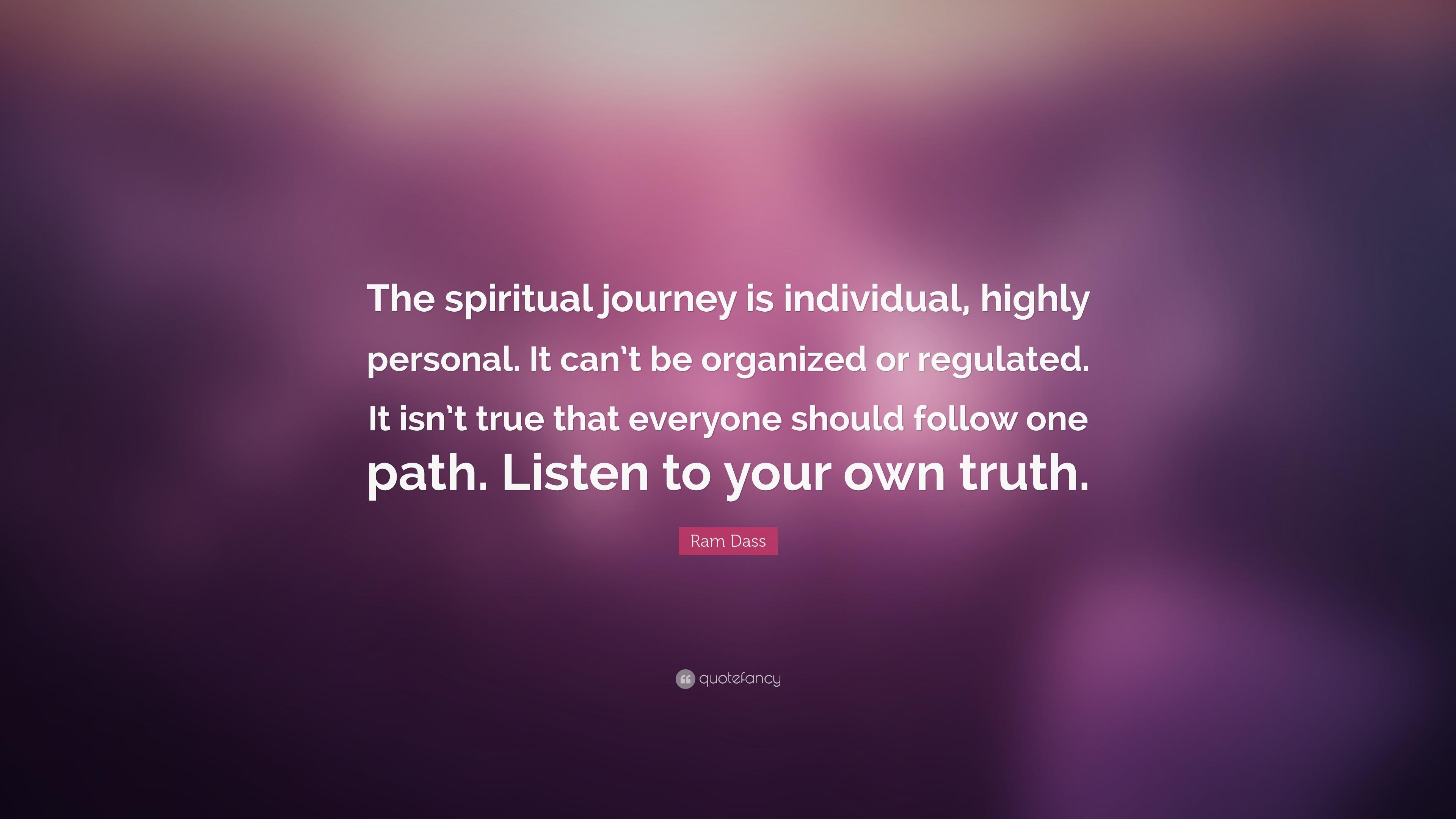 Personal spiritual journey essay