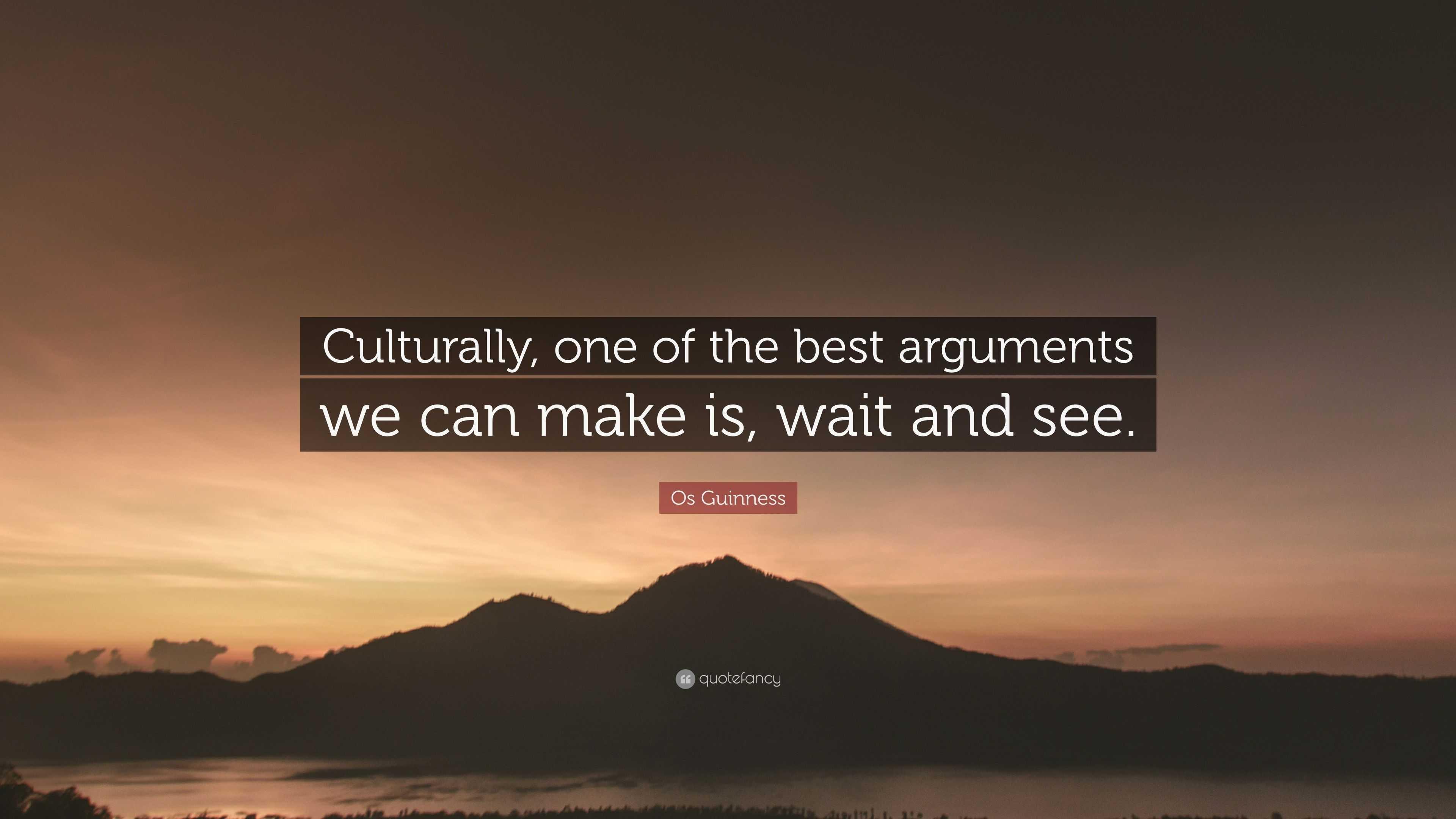 best arguments