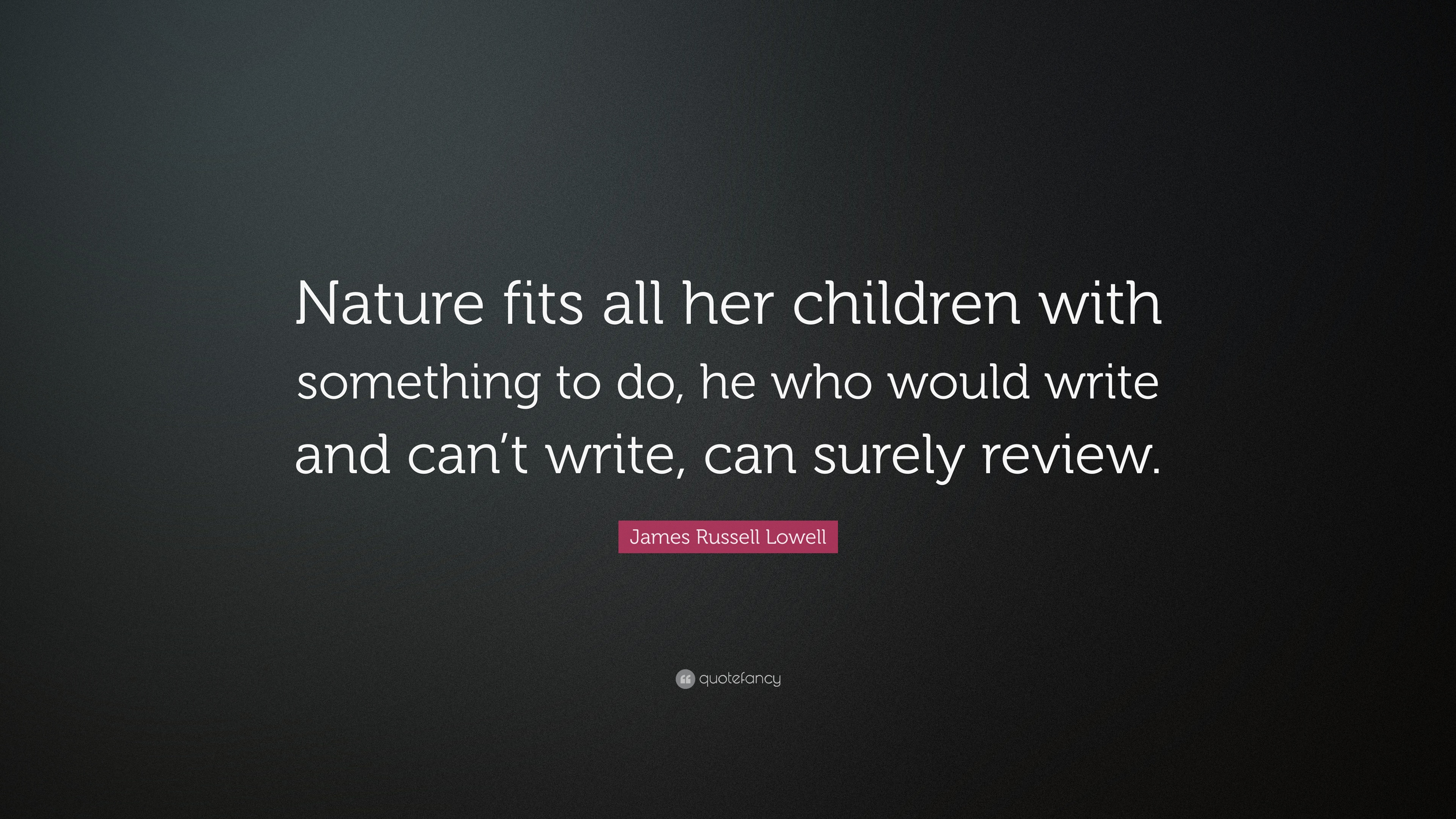 writing about nature quotes
