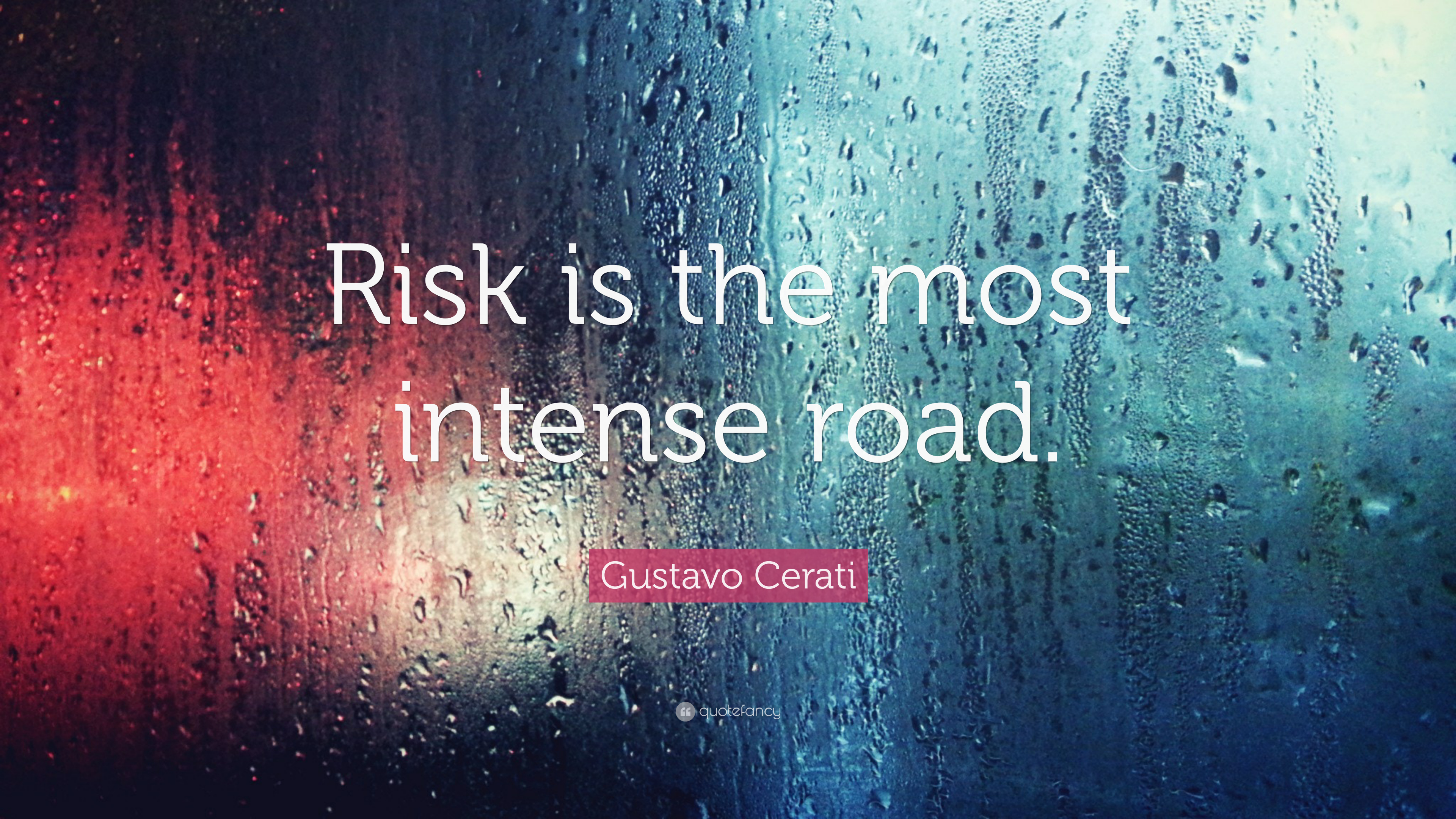 Gustavo Cerati Quote Risk Is The Most Intense Road 7 Wallpapers