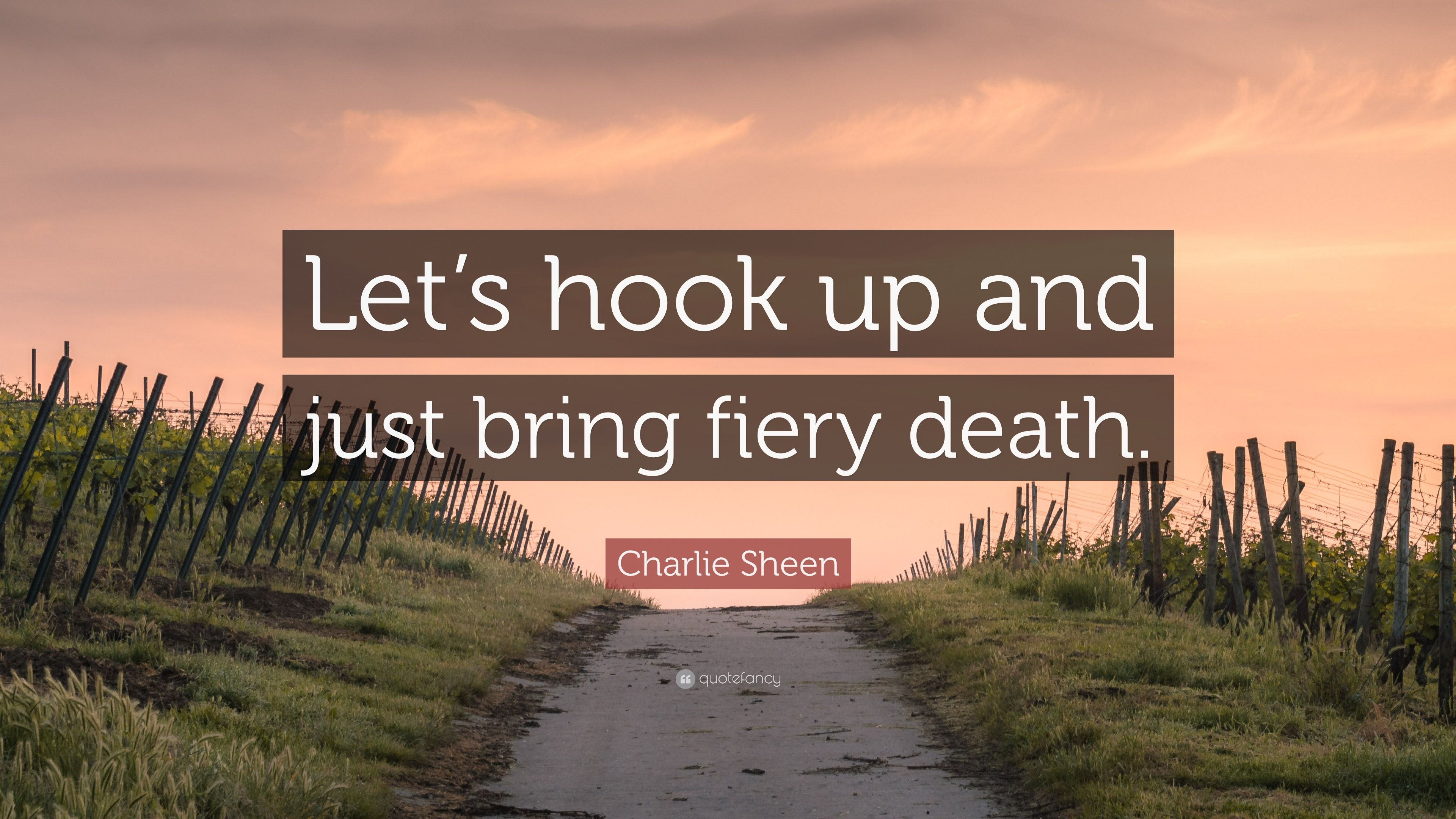 Charlie hook up