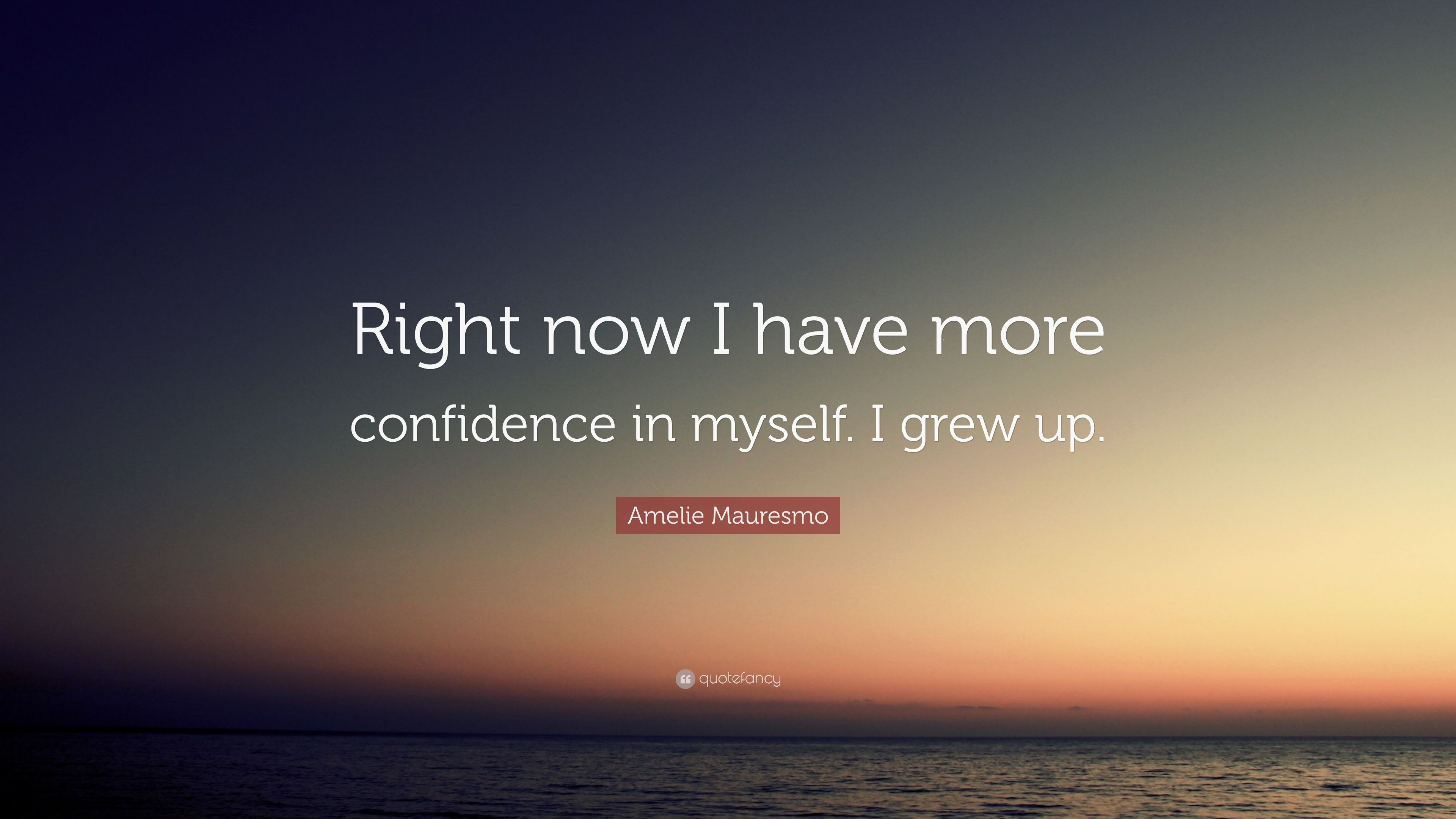 how to have more confidence in myself