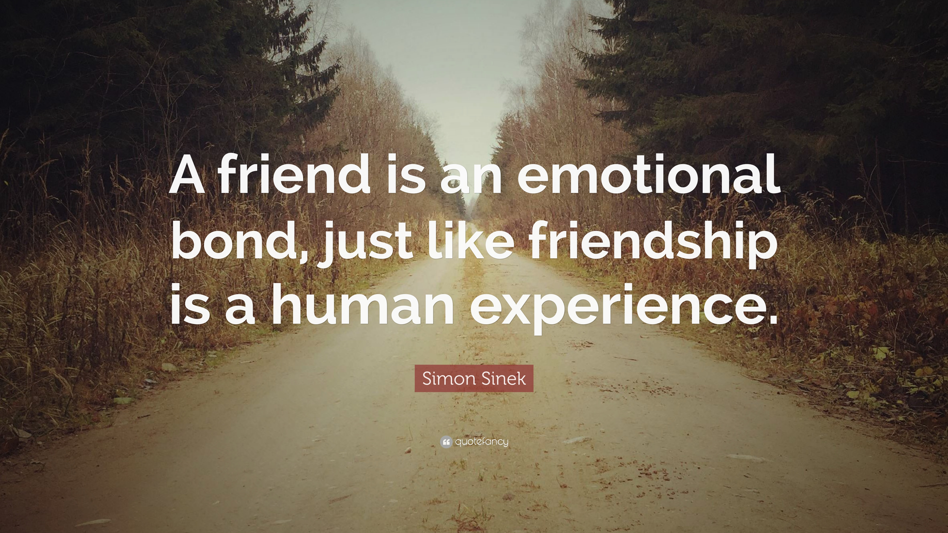 Image of: Messages Simon Sinek Quote a Friend Is An Emotional Bond Just Like Friendship Is Quotefancy Simon Sinek Quote a Friend Is An Emotional Bond Just Like