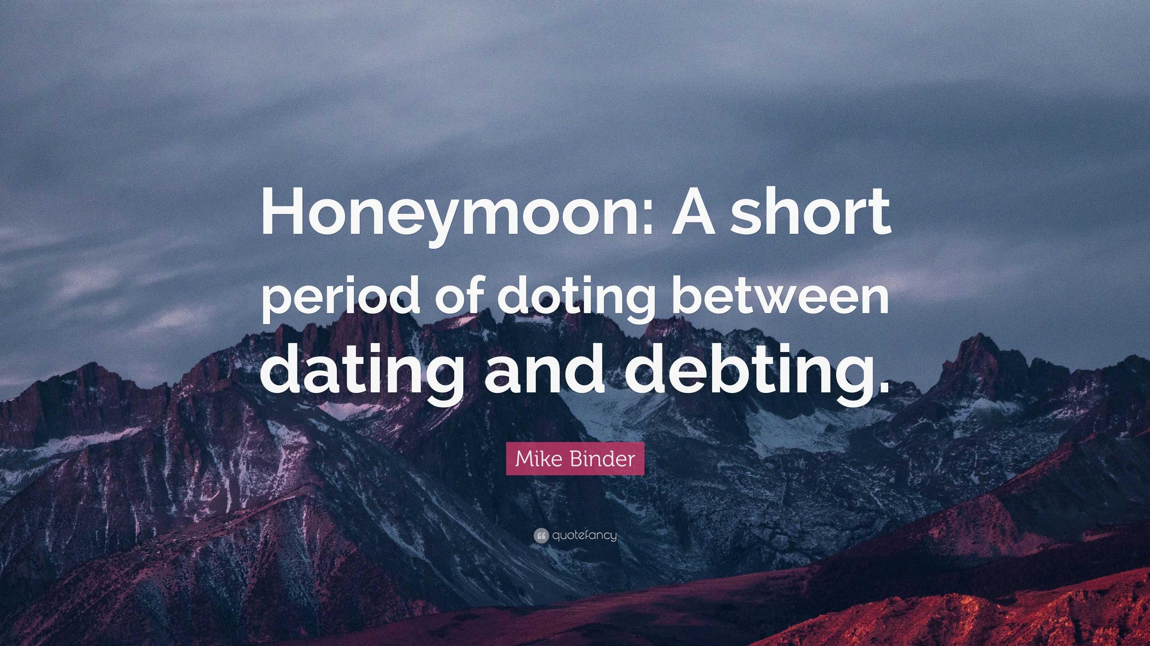Dating binder