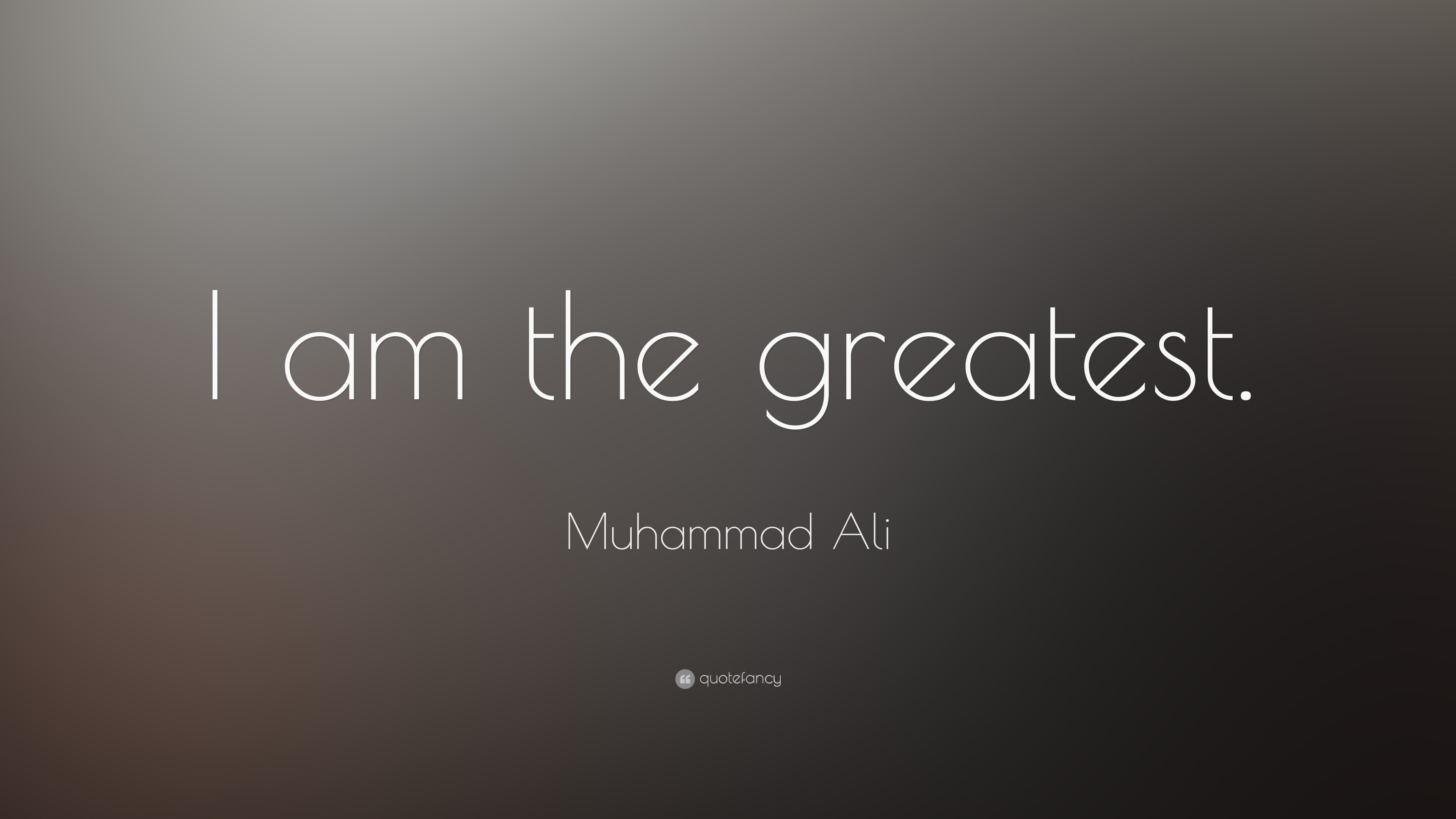 Muhammad Ali Quotes i am The Greatest Muhammad Ali Quote i am The