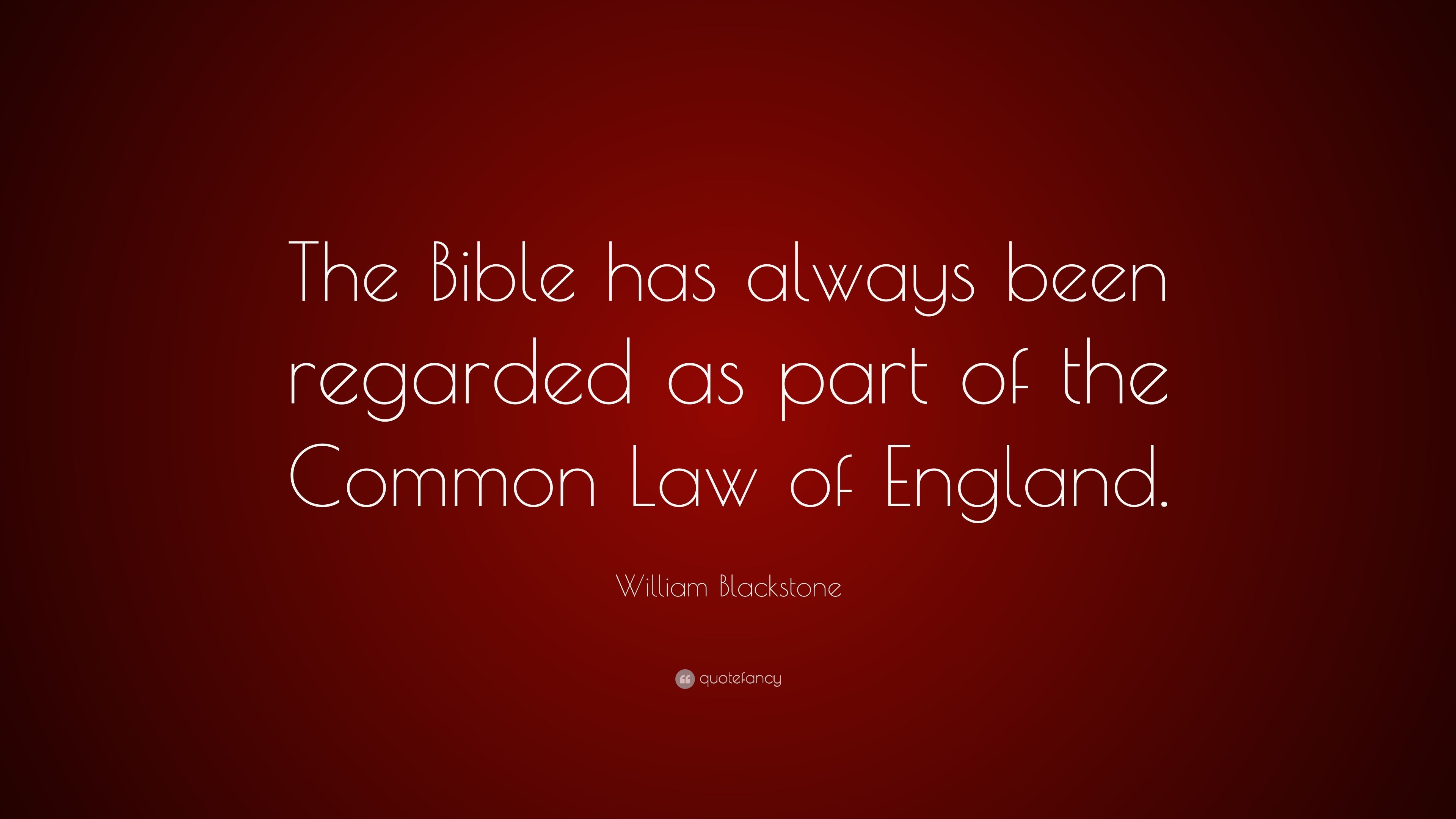 Image result for the Bible source of common law