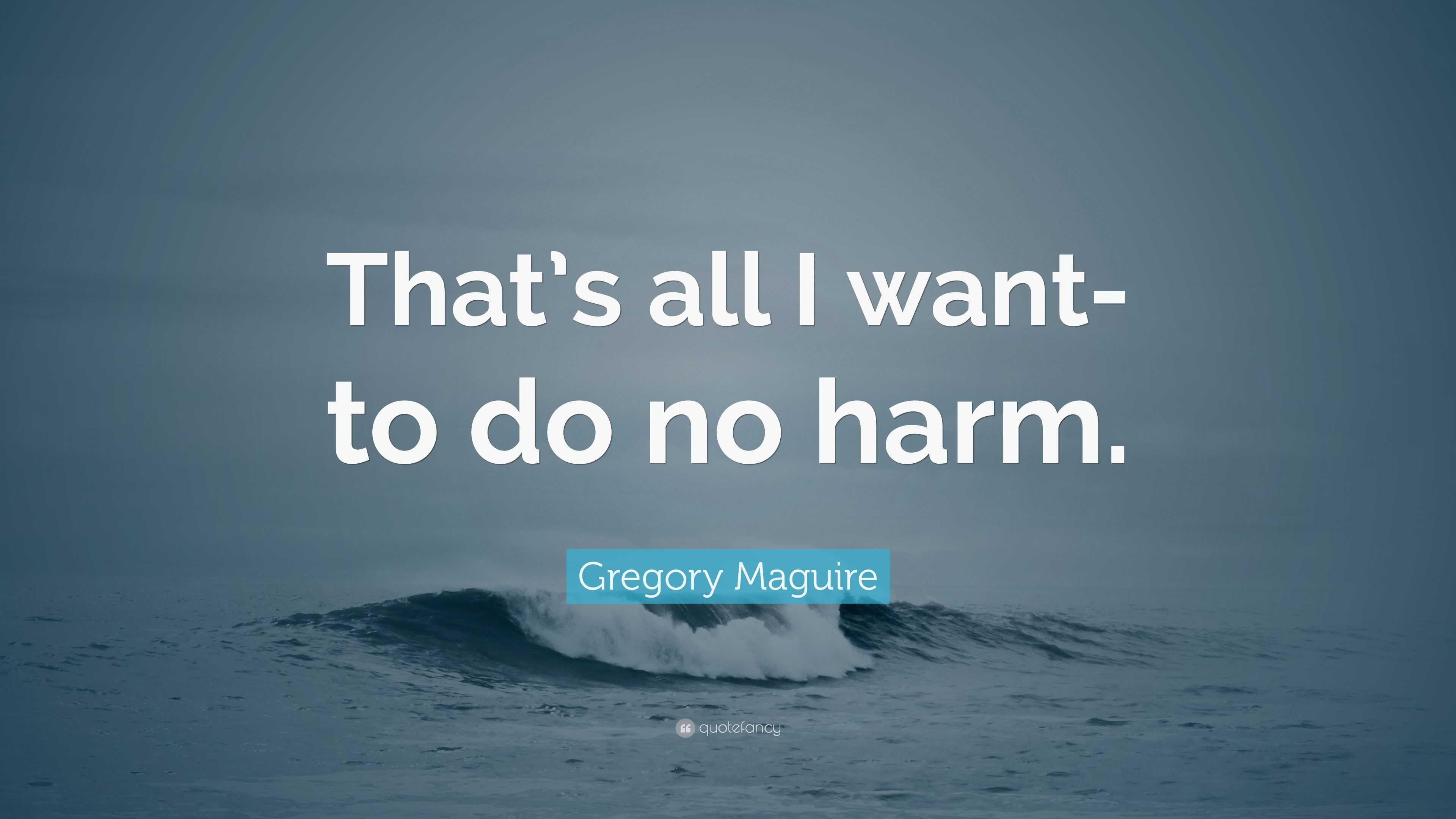 do no harm quote