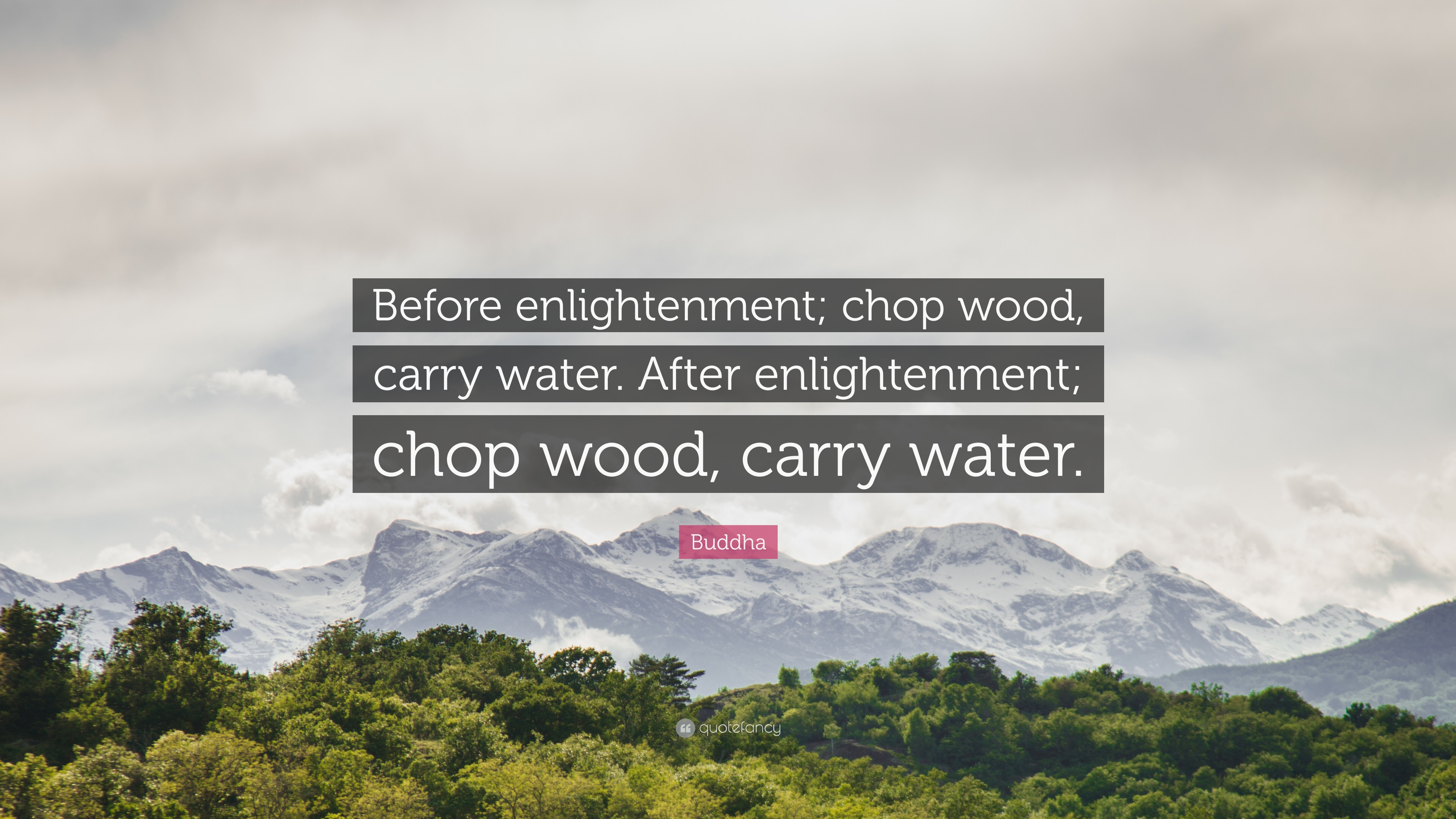 buddha quote u201cbefore enlightenment chop wood carry water after rh quotefancy com chop wood carry water joshua medcalf pdf chop wood carry water book