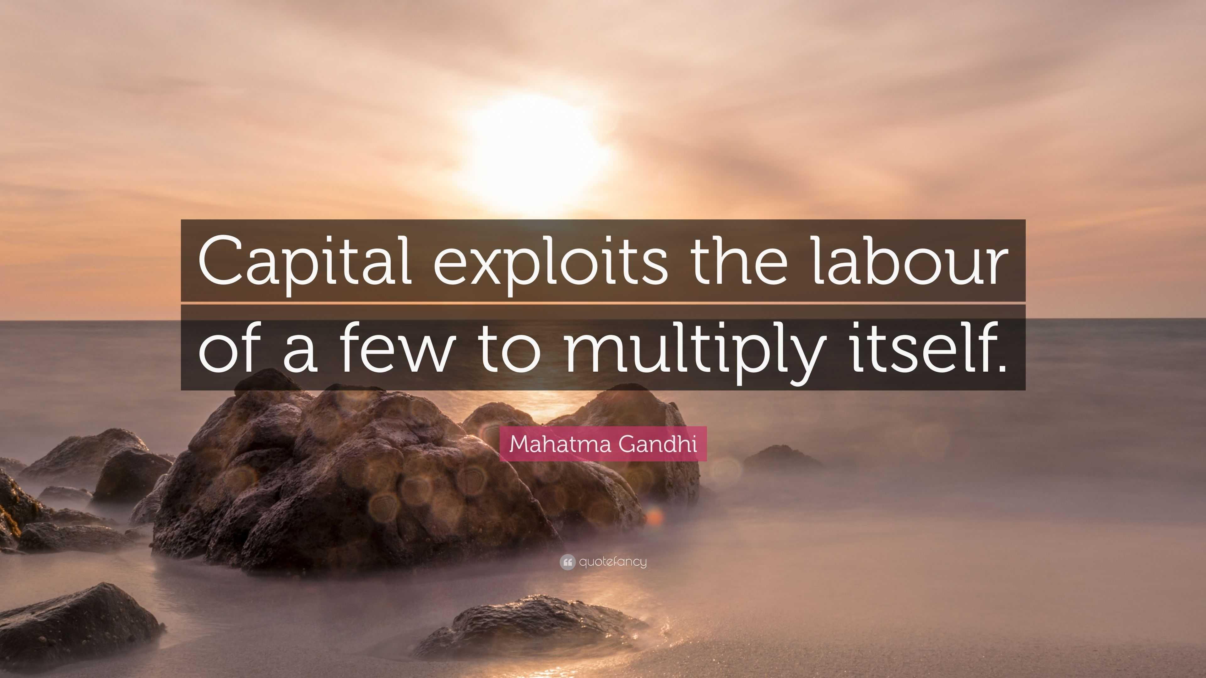 Capital multiplies itself 69