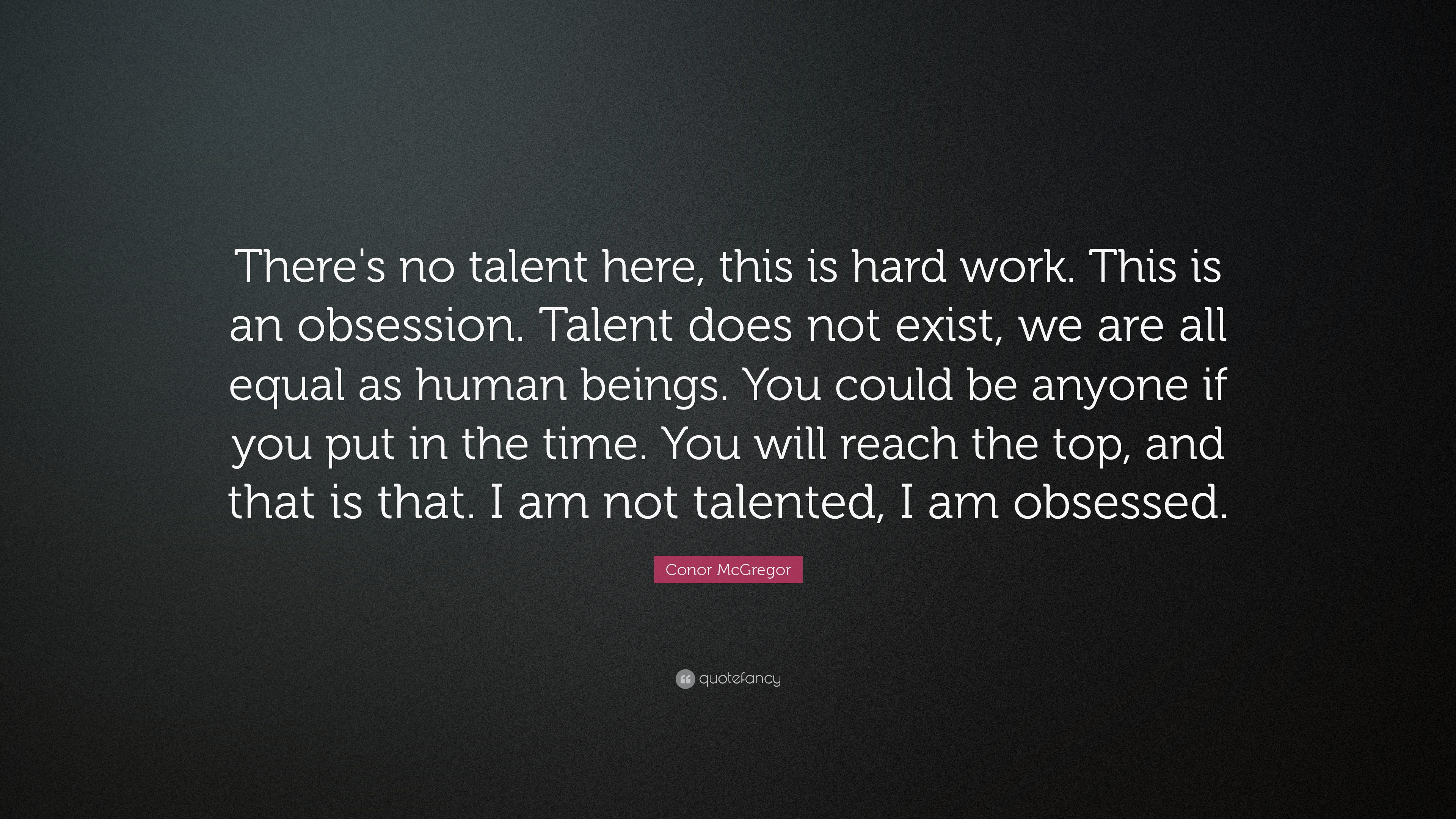 which is more important talent or hard work debate