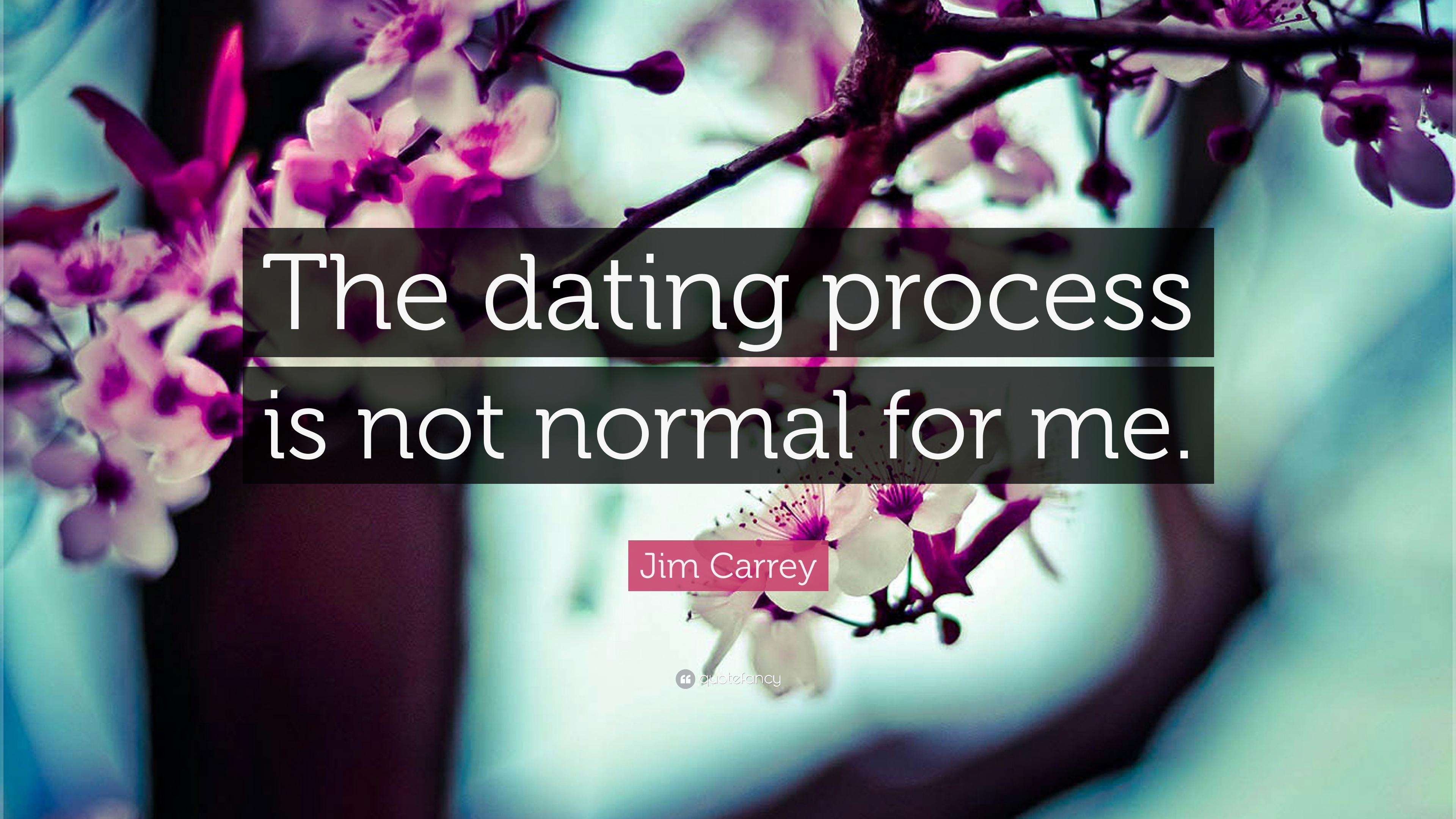 What is a normal dating process