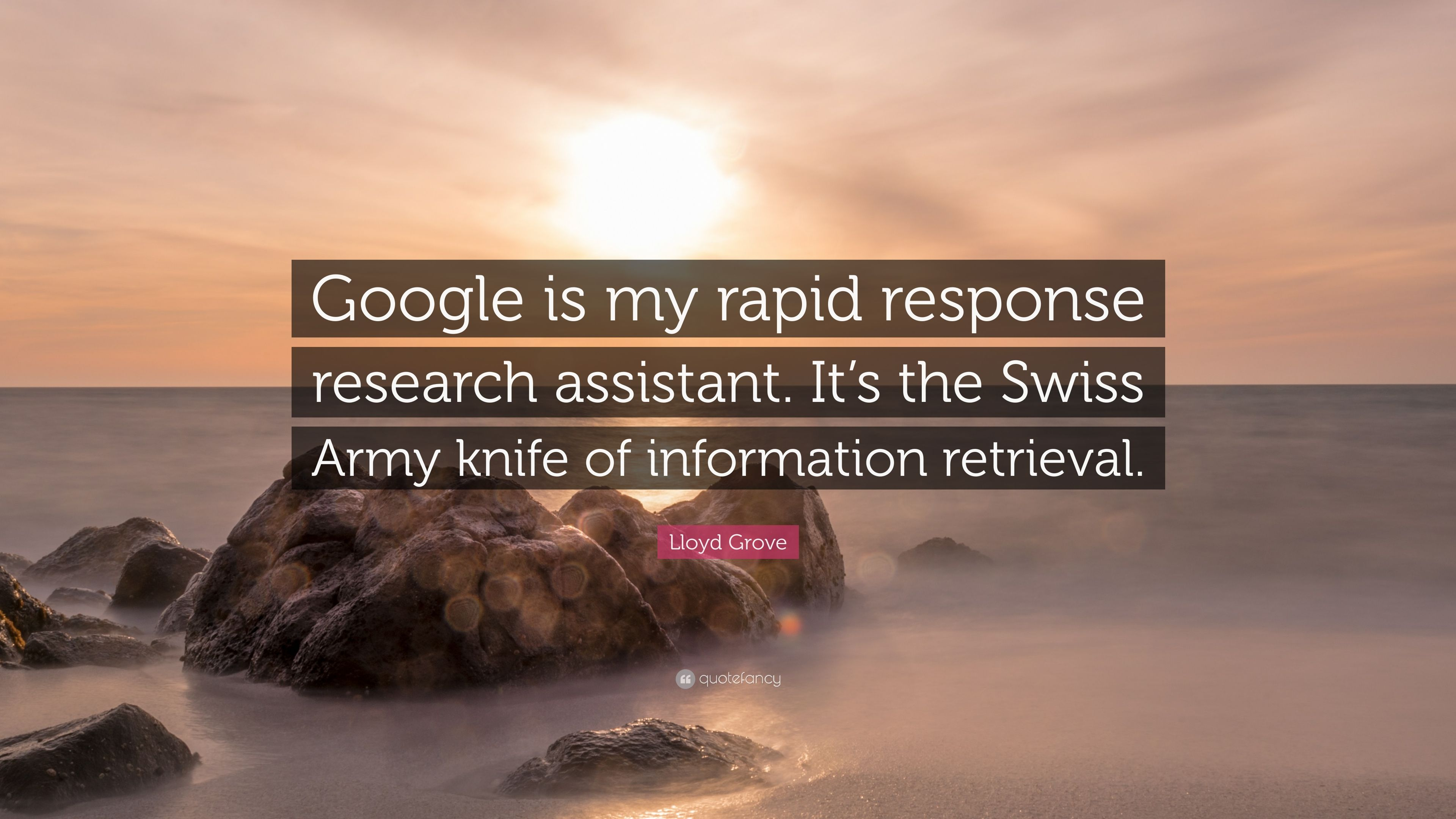 """newest 9641c 5be3a Lloyd Grove Quote: """"Google is my rapid response research ..."""