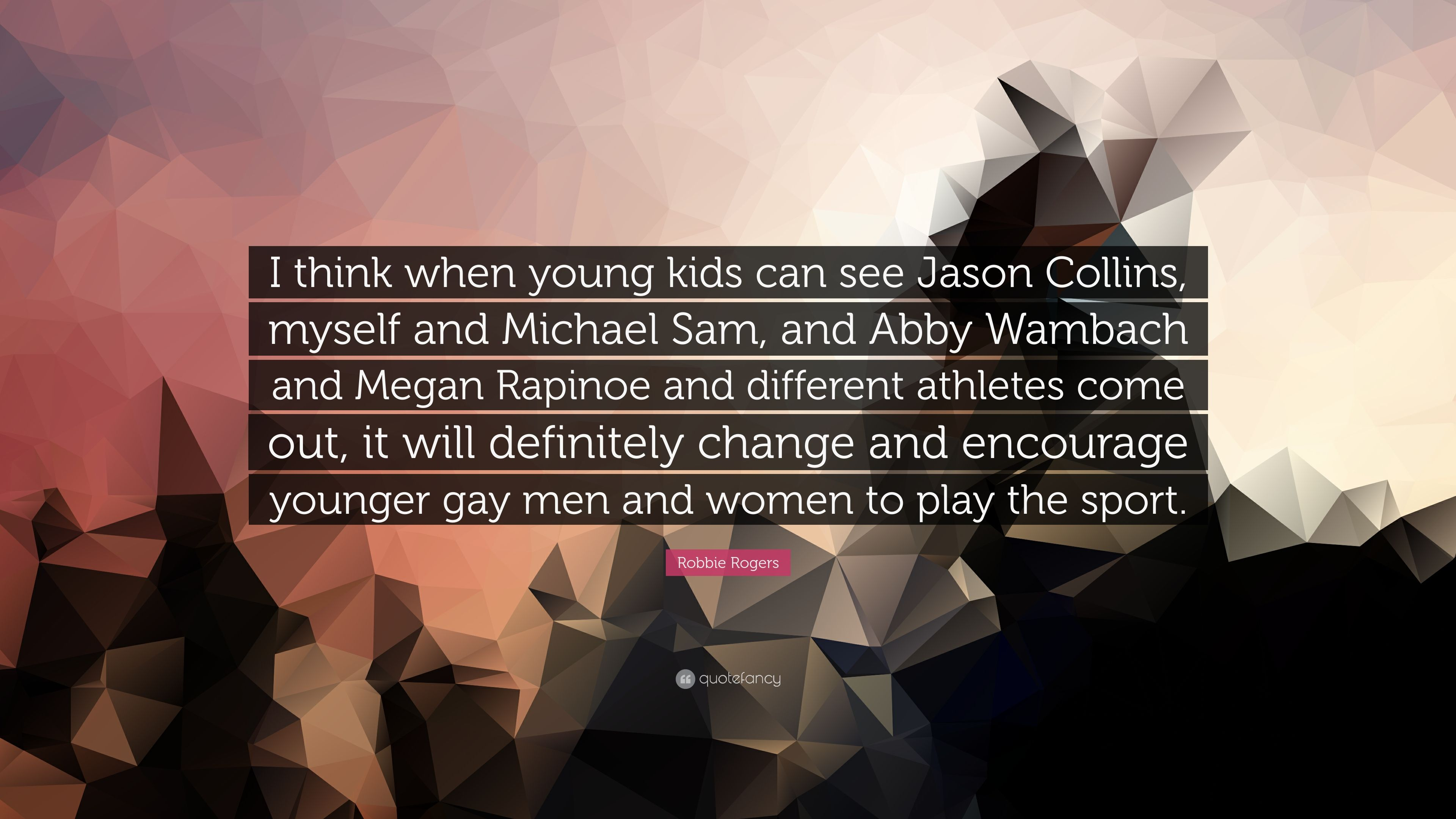 Jason Collins Kids
