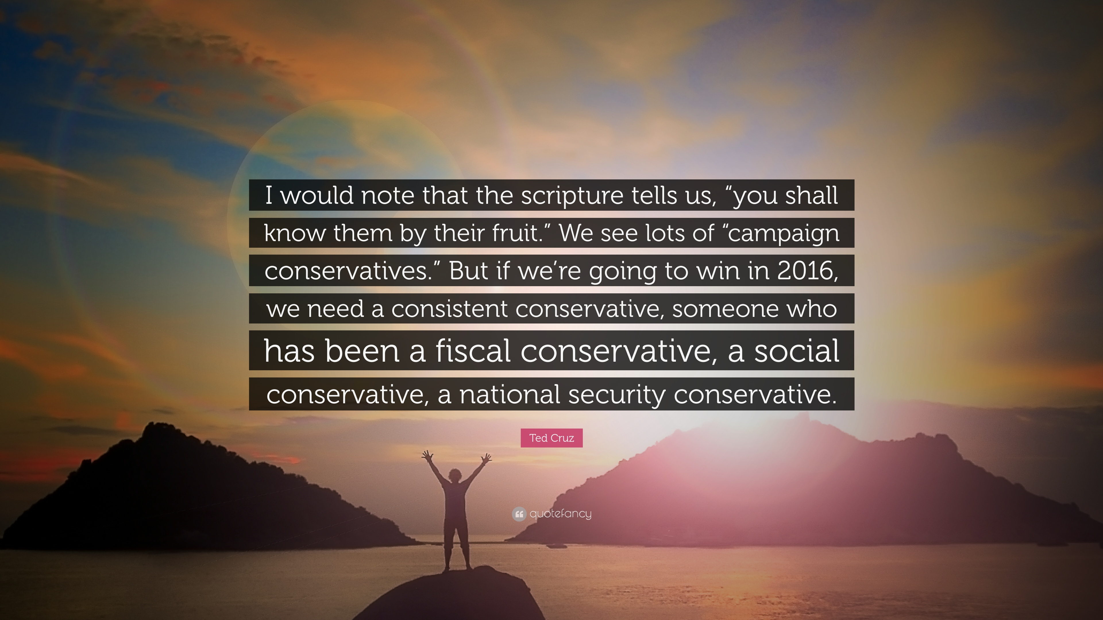 "Ted Cruz Quotes Ted Cruz Quote ""I Would Note That The Scripture Tells Us ""You"