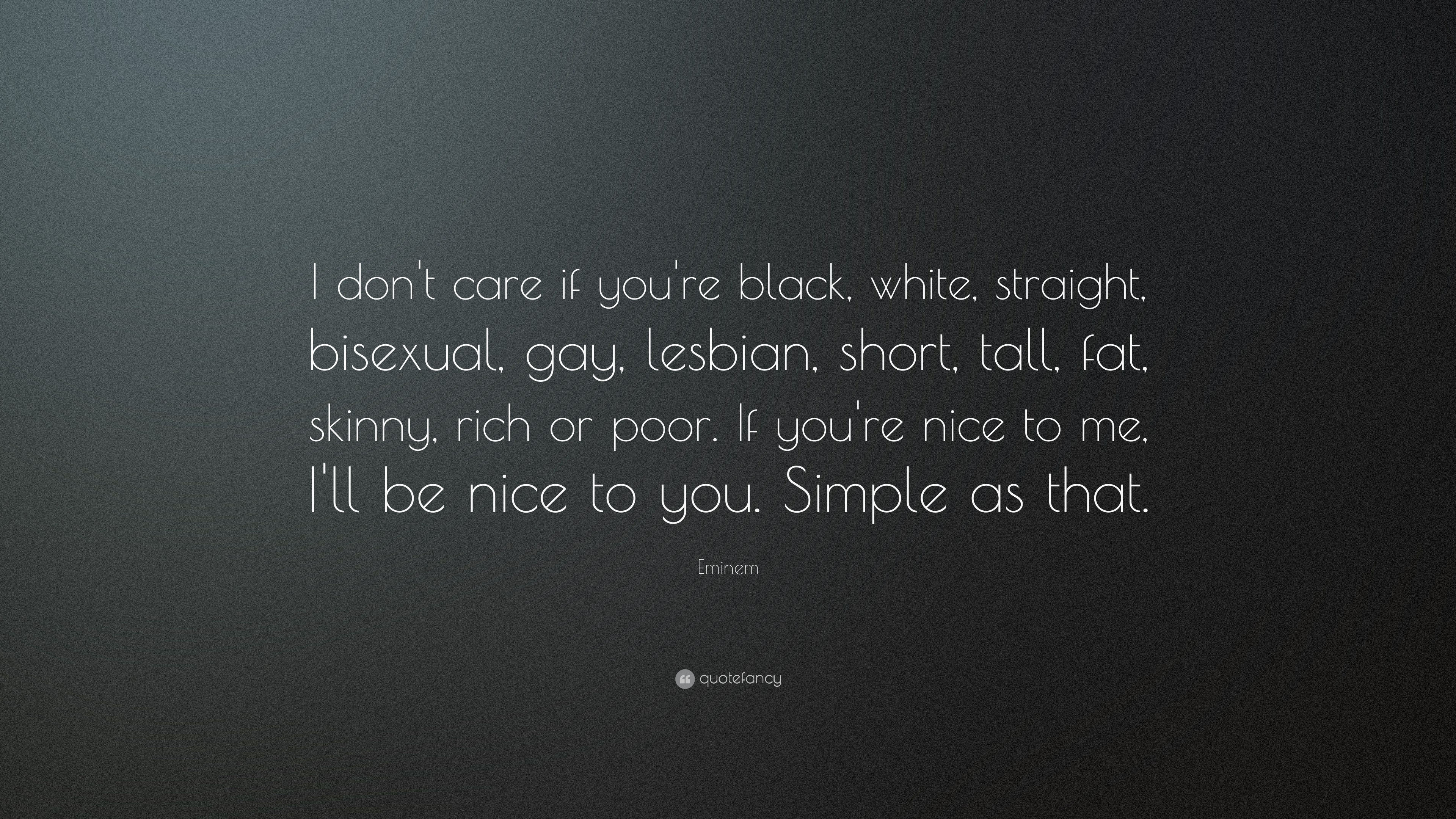 eminem quotes i dont care if your - photo #12