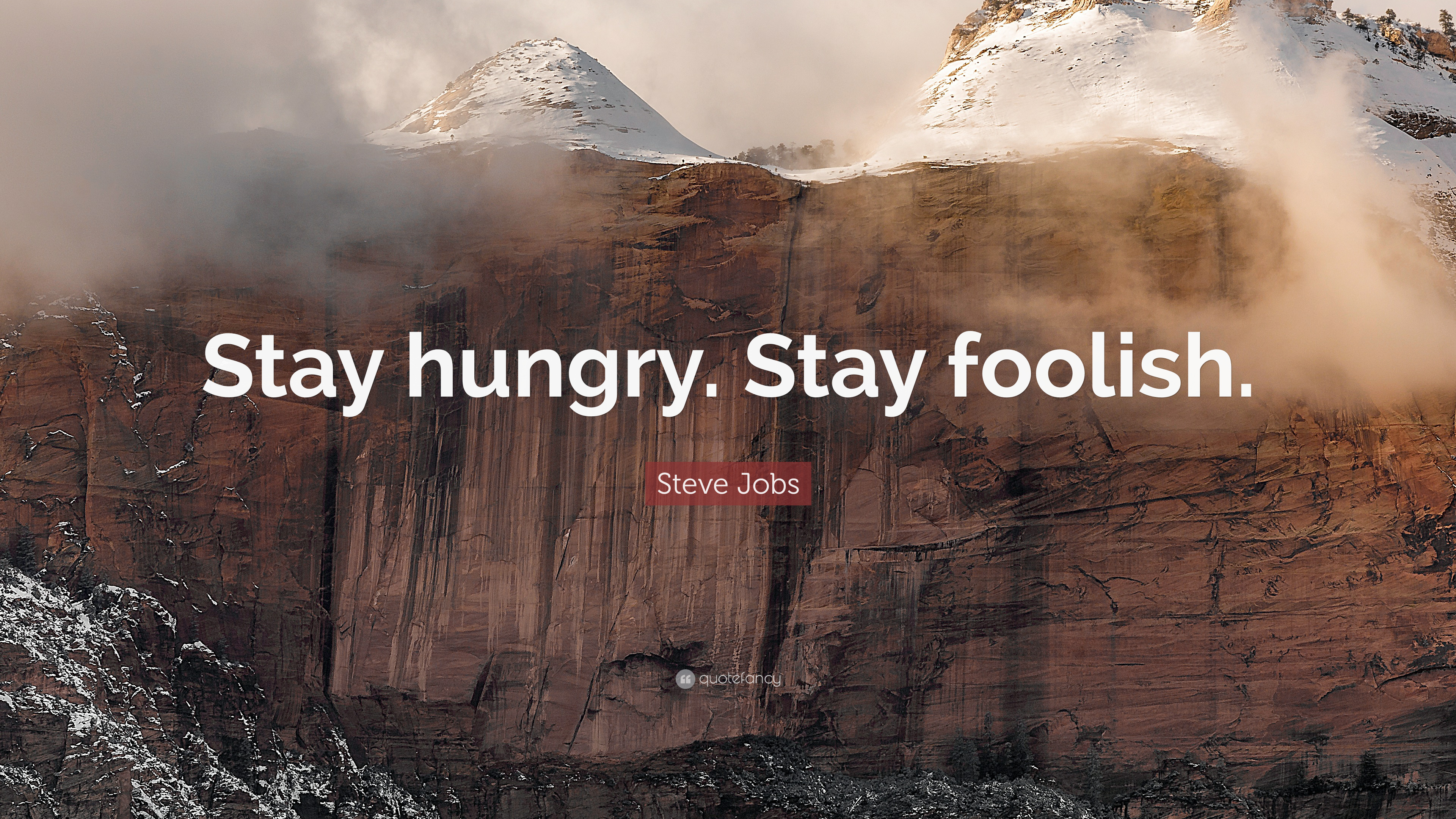 Steve Jobs Quote Stay Hungry Stay Foolish 41 Wallpapers