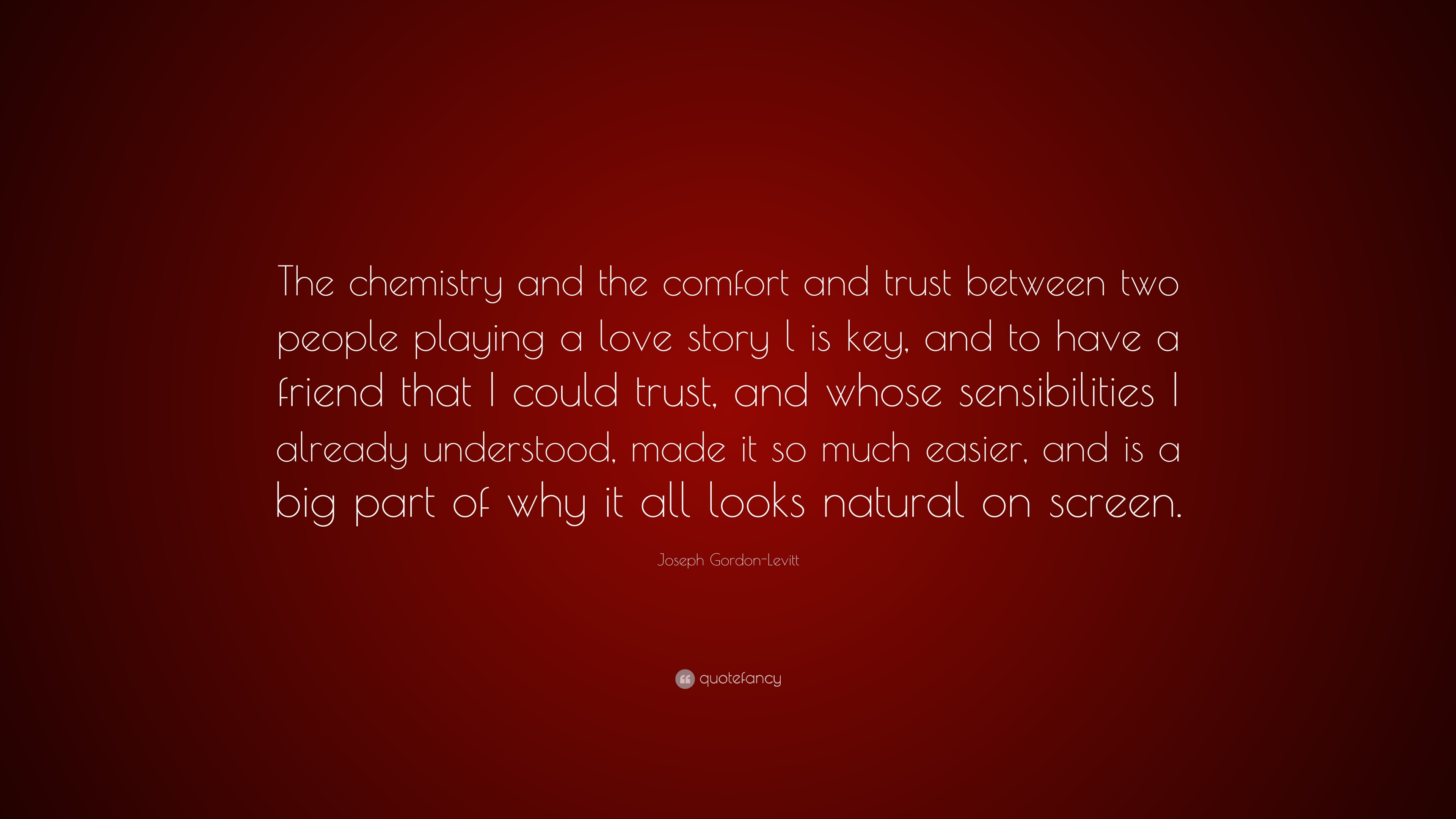 Chemistry between two people