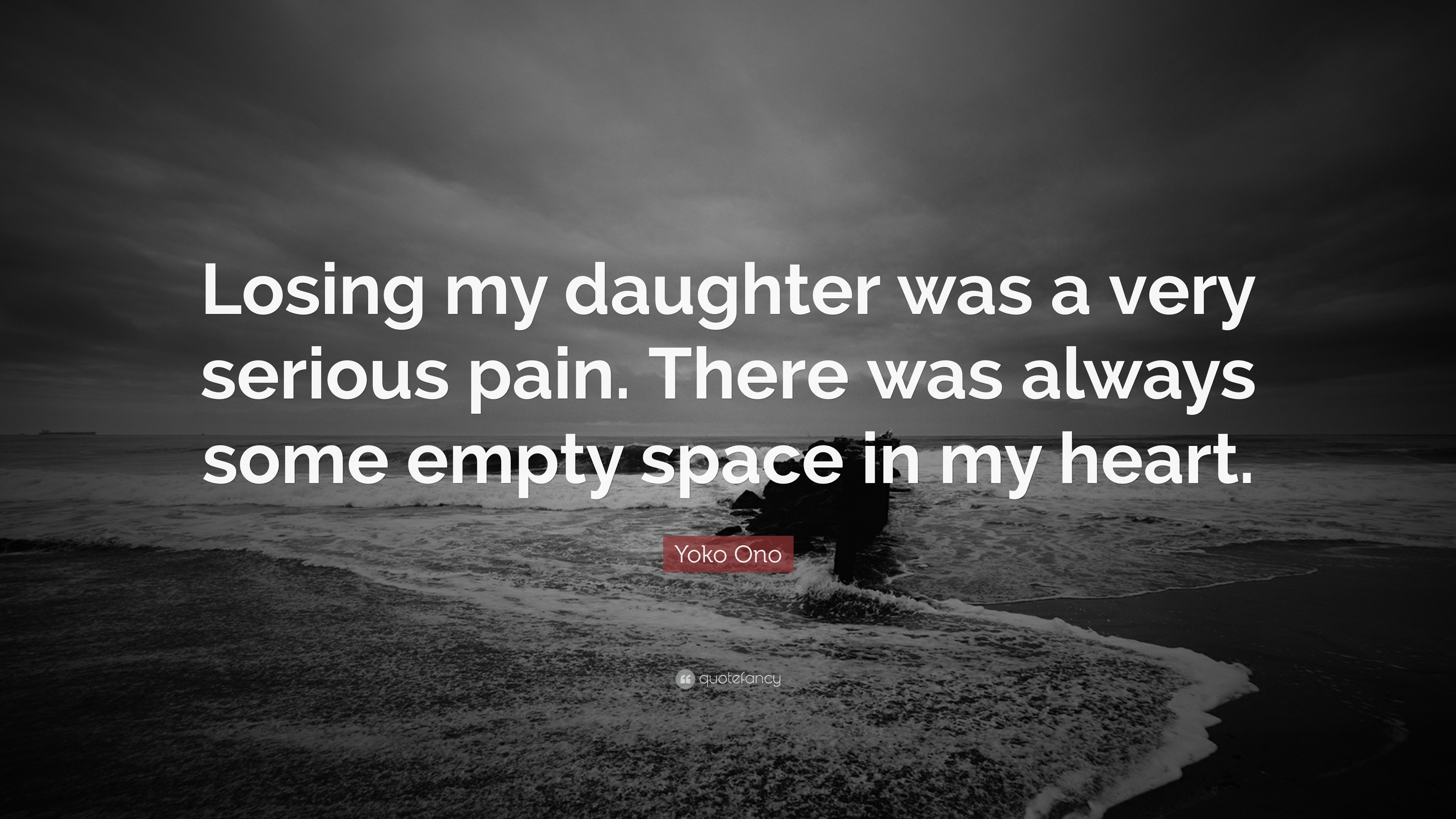 "Yoko Ono Quote: ""Losing My Daughter Was A Very Serious"