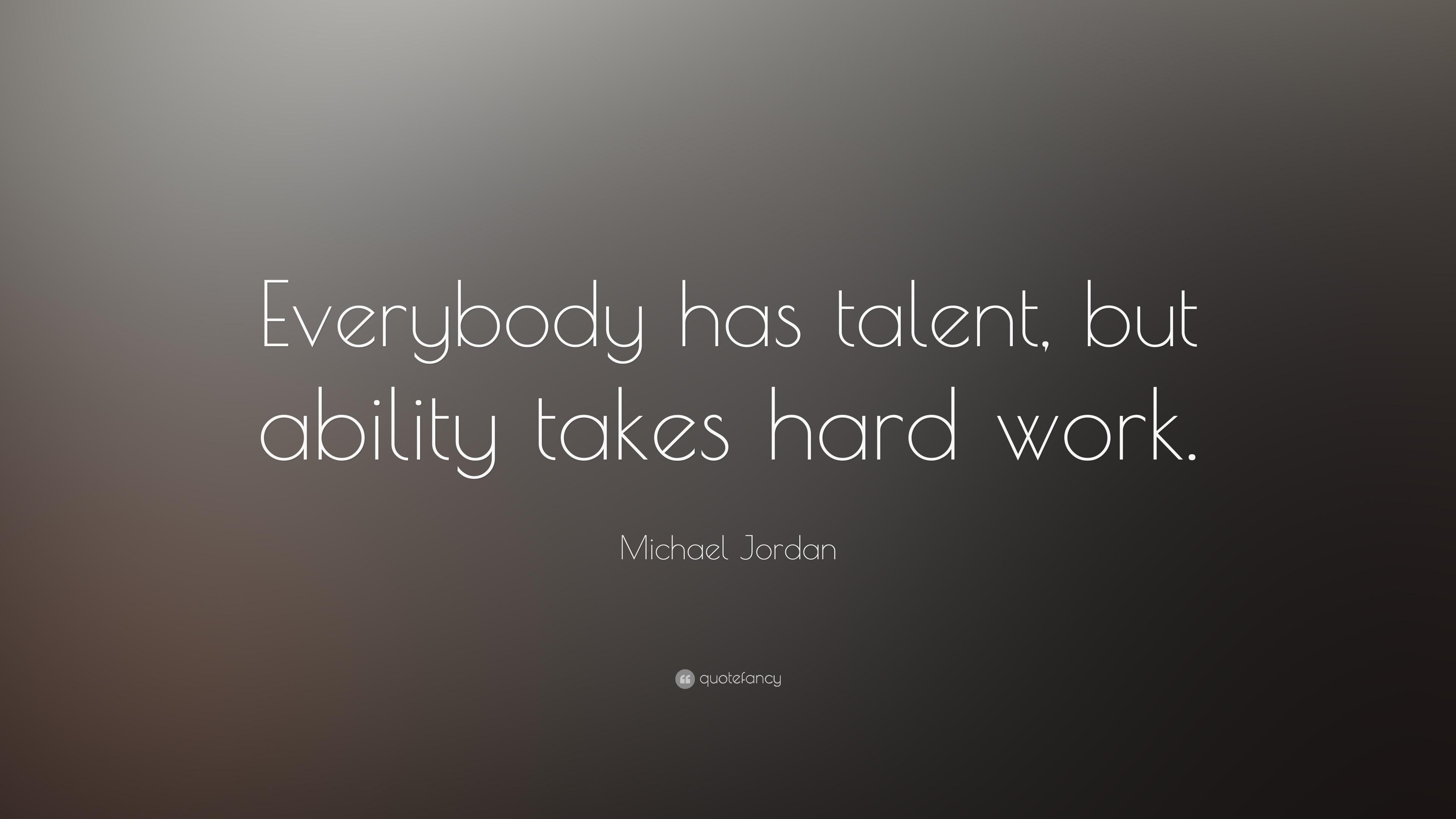 Michael Jordan Quote: ...