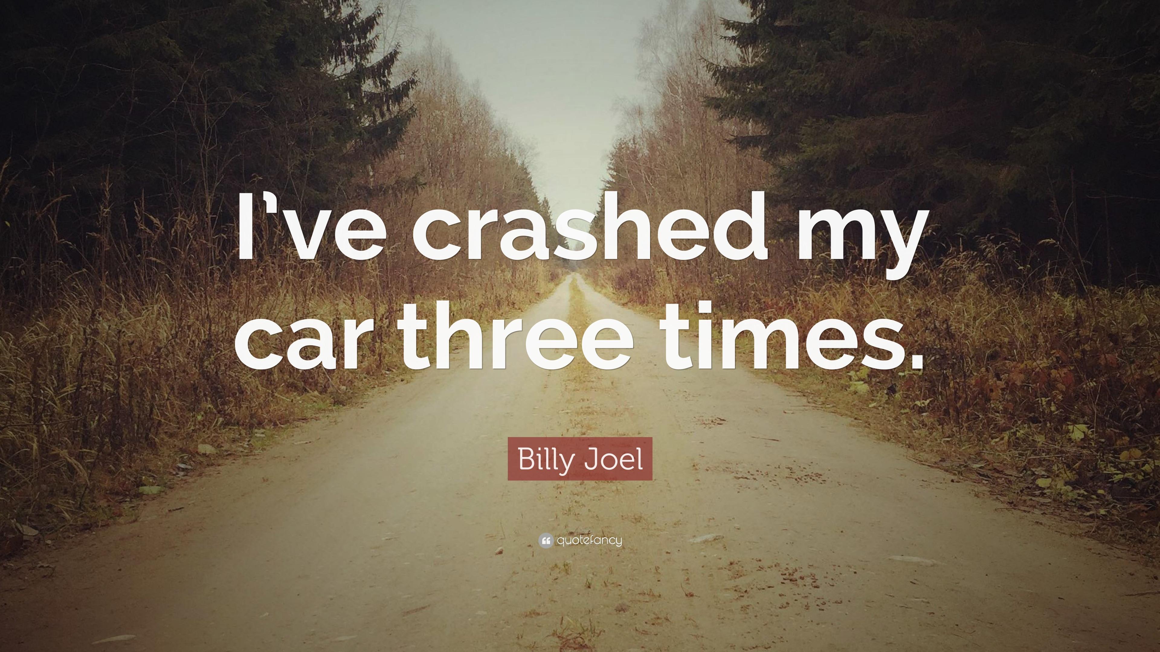 Image result for billy joel car crash
