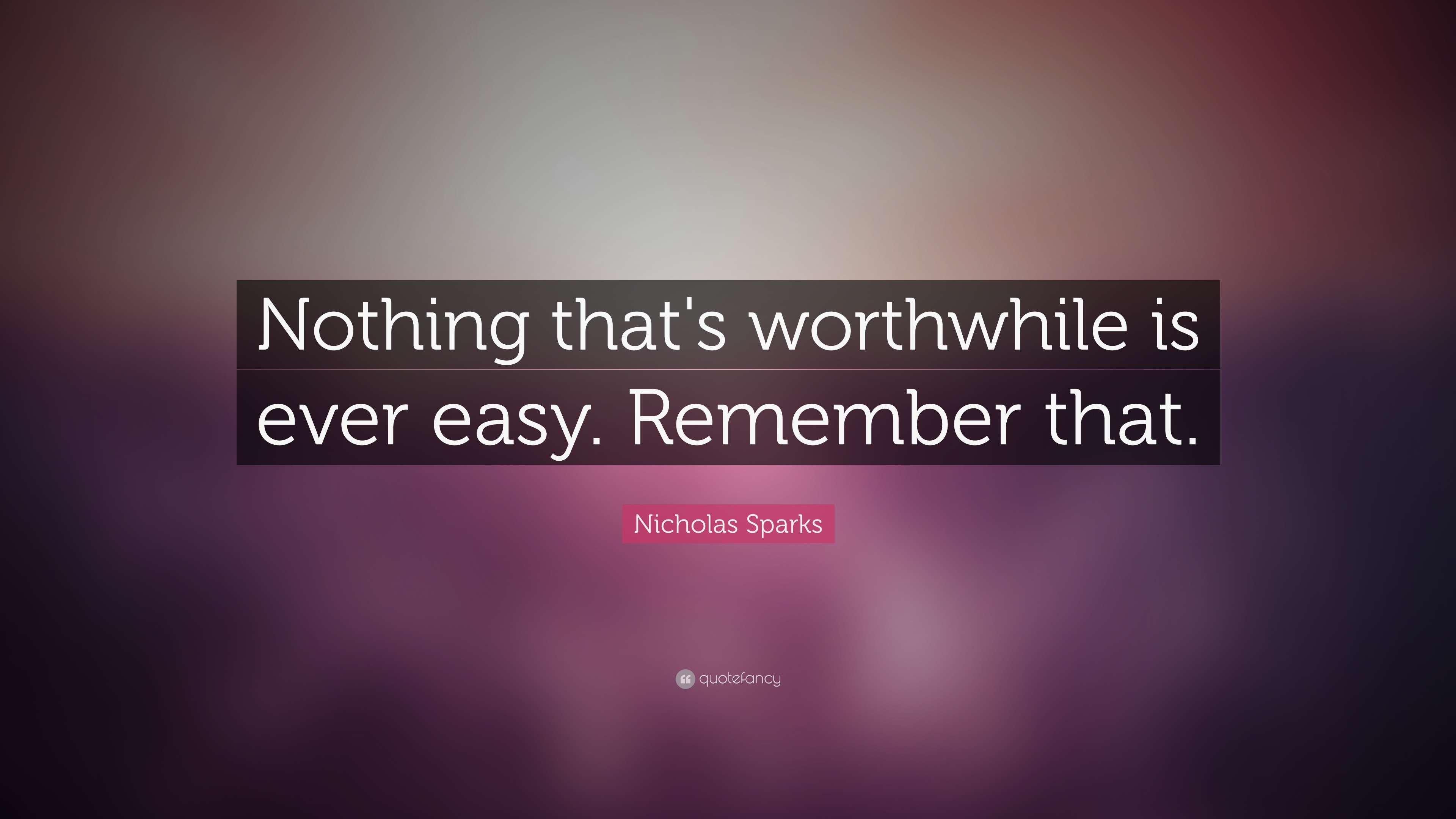 Image result for nothing easy ever comes out