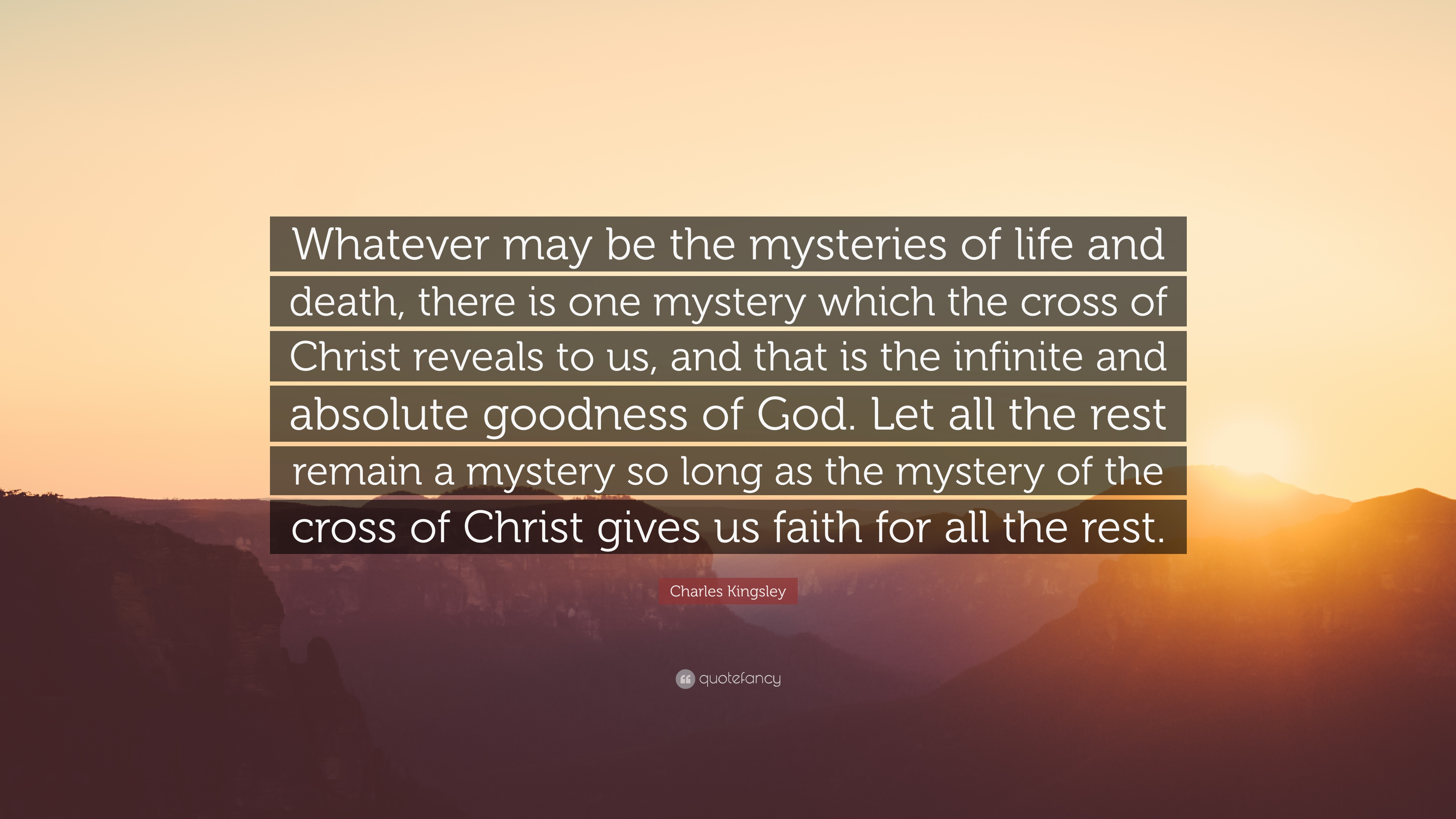 the mystery of life or death The words that we speak, are they life or death  it says that death and life are in the power of the tongue:  but we speak the wisdom of god in a mystery, .