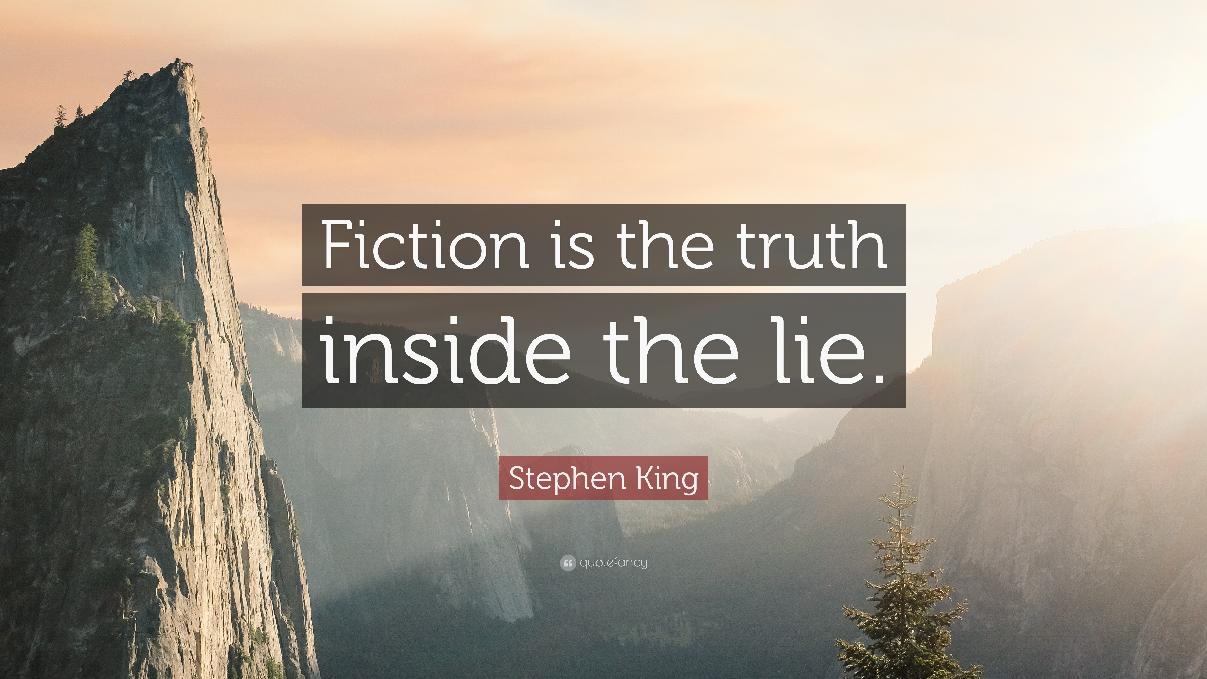 Image result for stephen king on writing truth