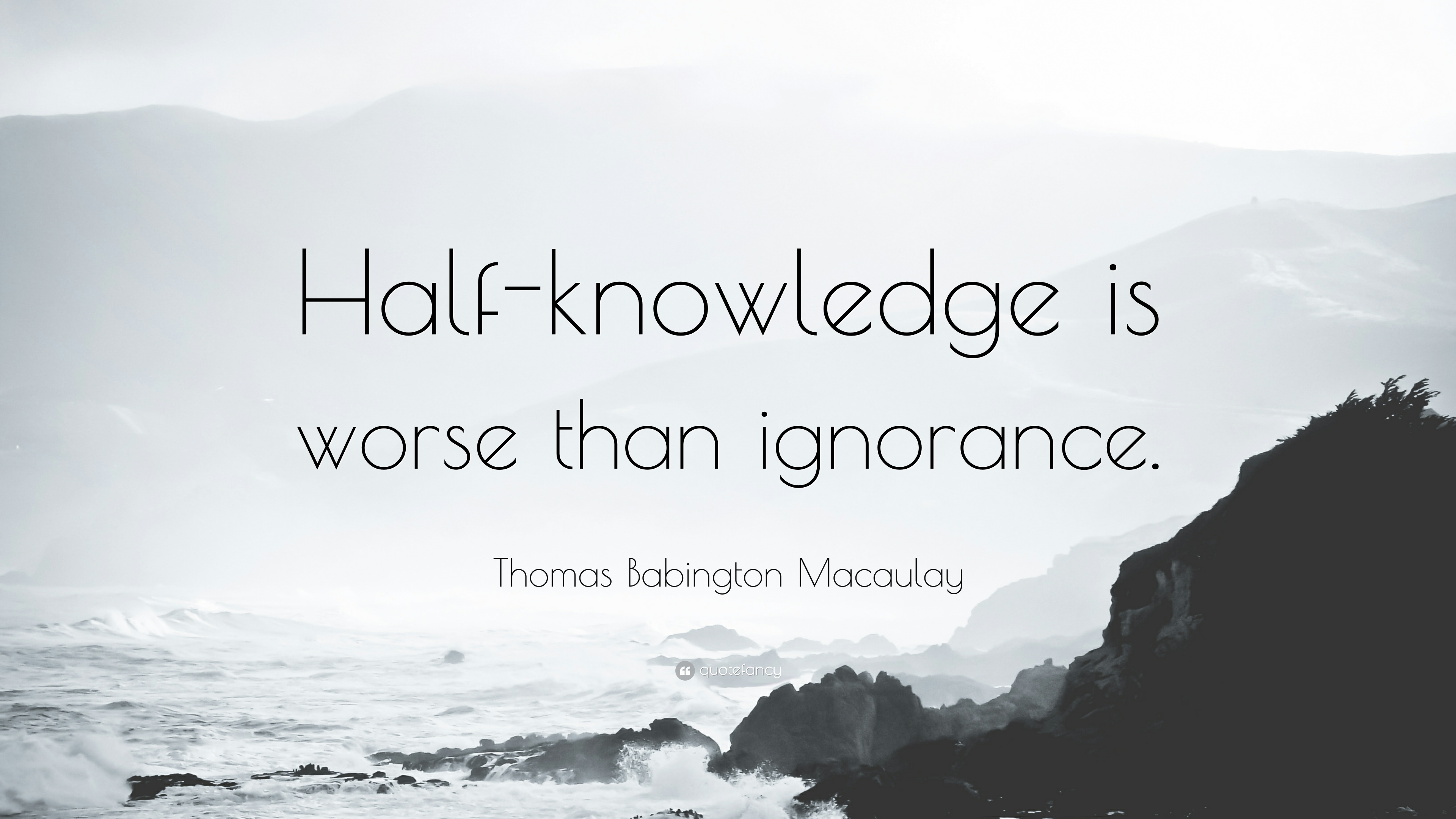 Image result for half knowledge