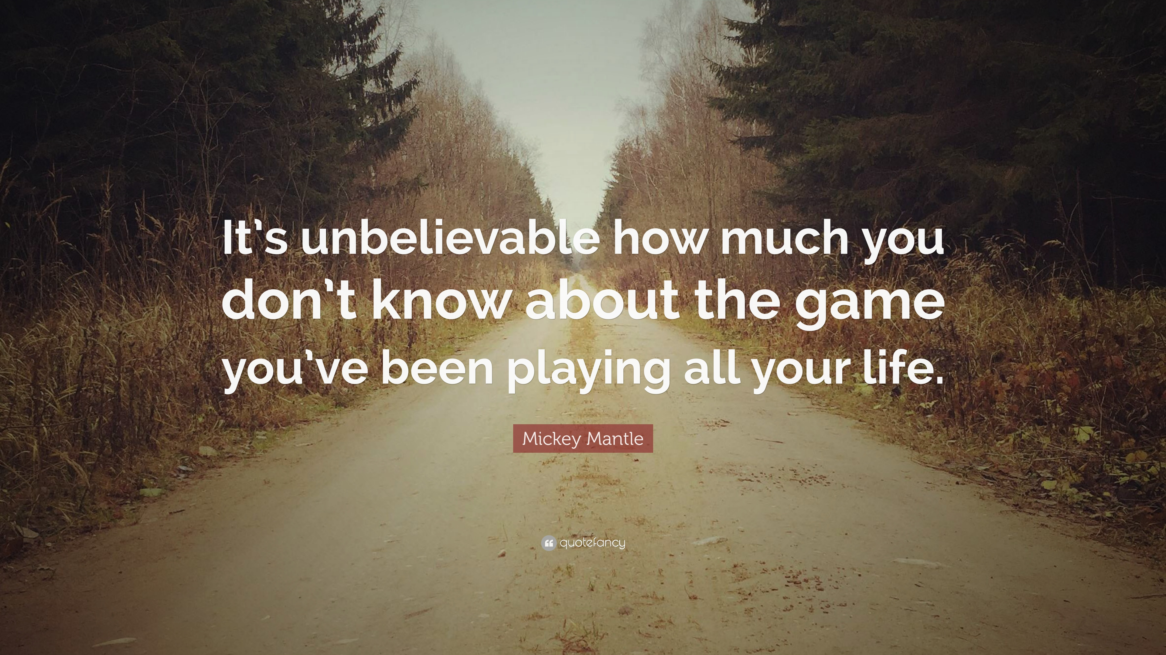 Baseball Quotes Its Unbelievable How Much You Dont Know About The Game