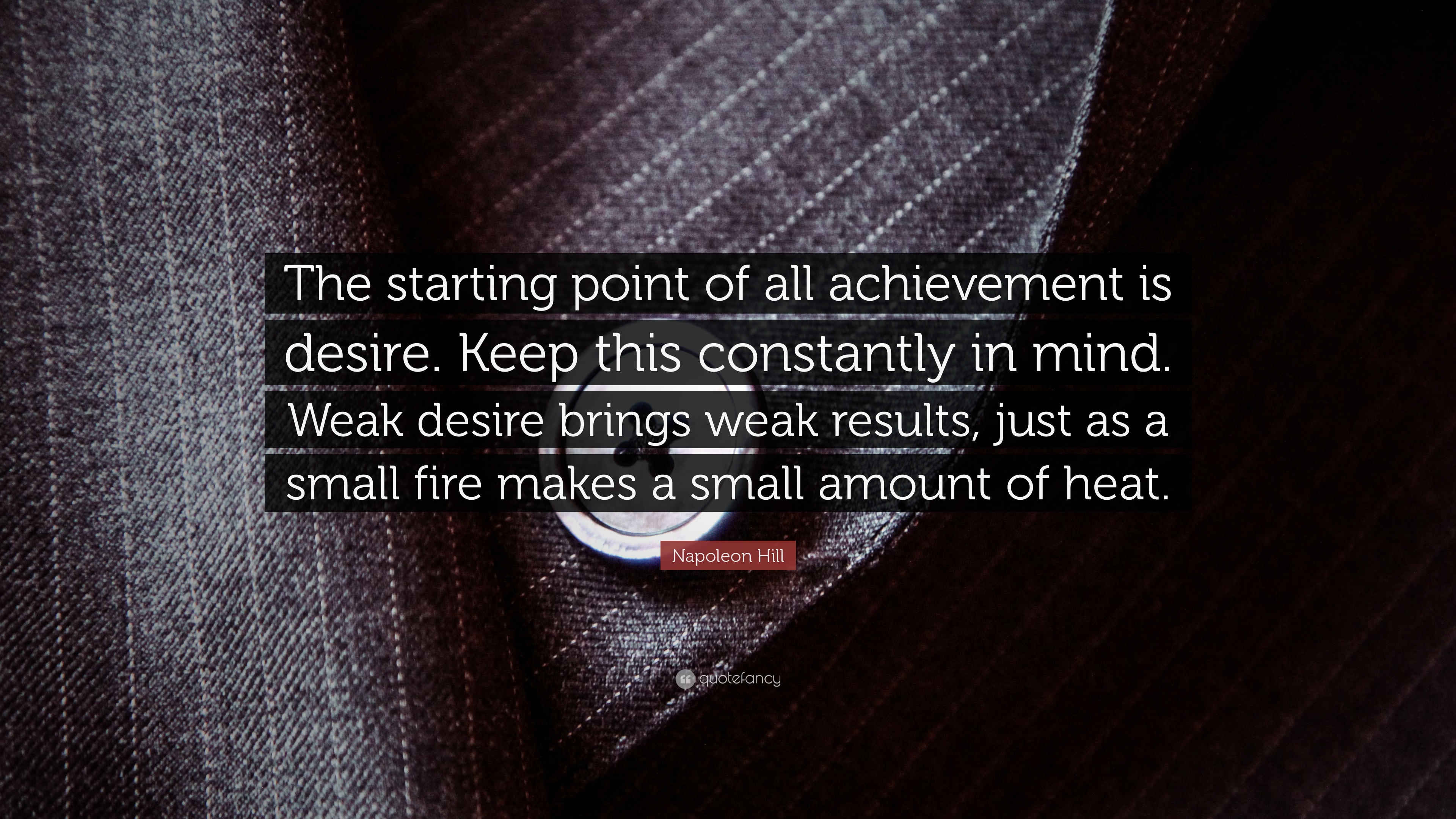 The Achievement of Desire Essay Sample