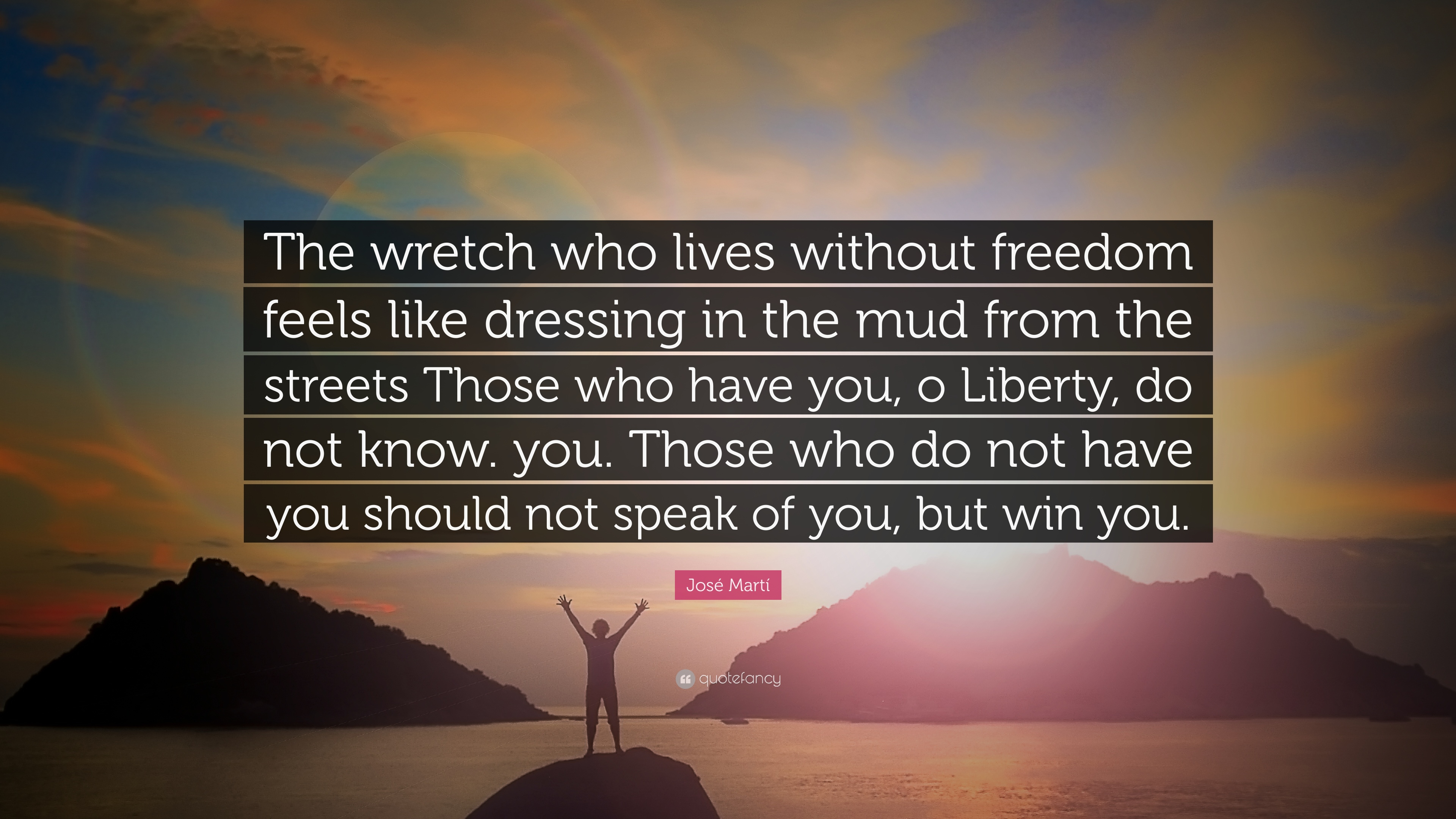 what will you do without freedom