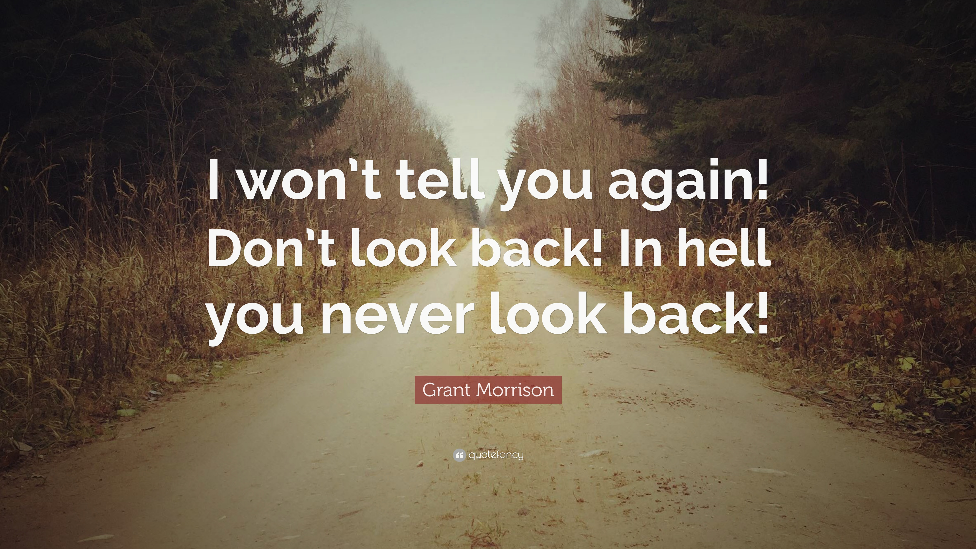 i never looked back again Never look back quotes may you find comfort and joy in these encouraging never look back quotes never look back unless you are planning to go that way - henry david thoreau let us not look back in anger.
