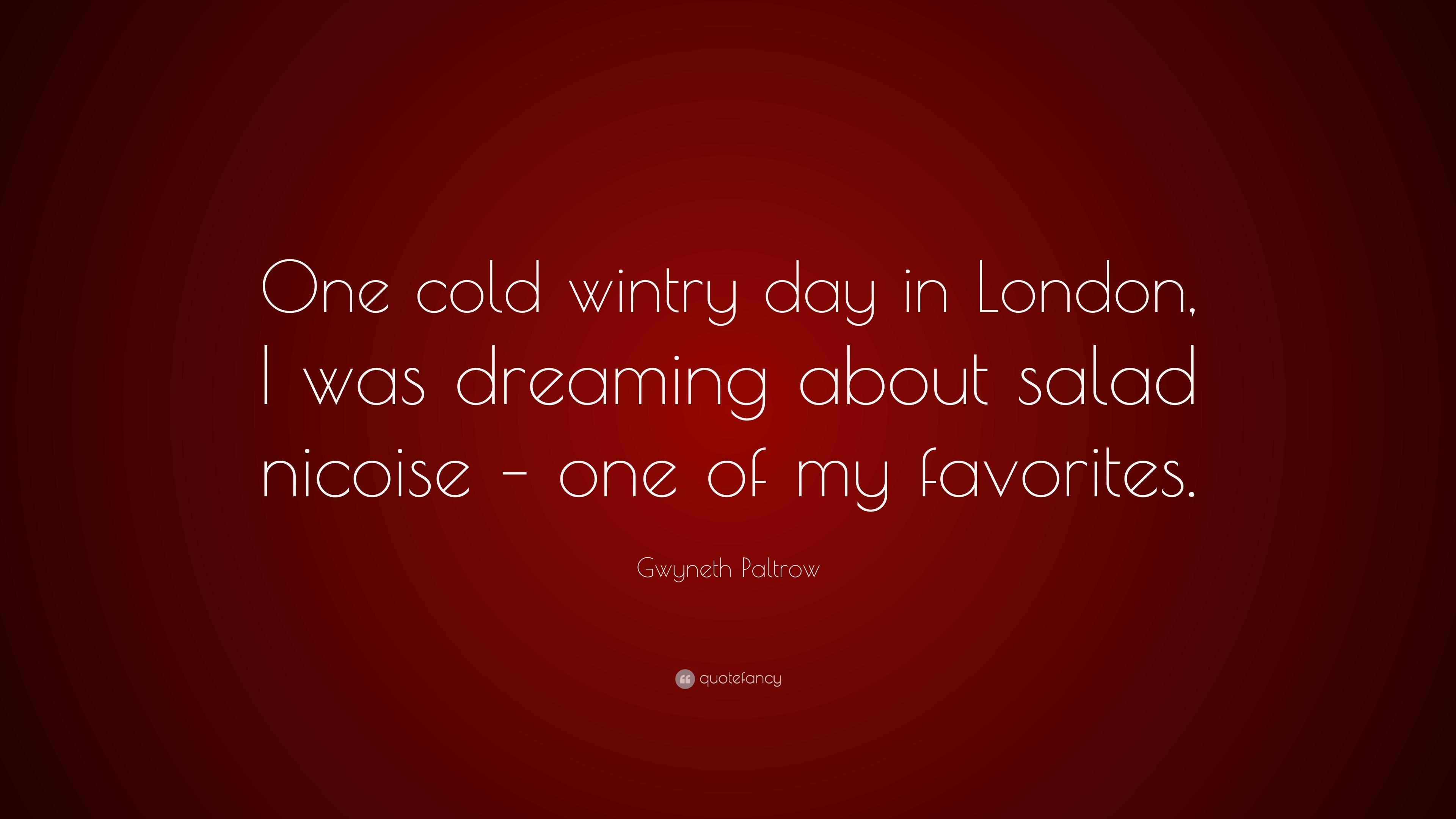Nicoise salad quote