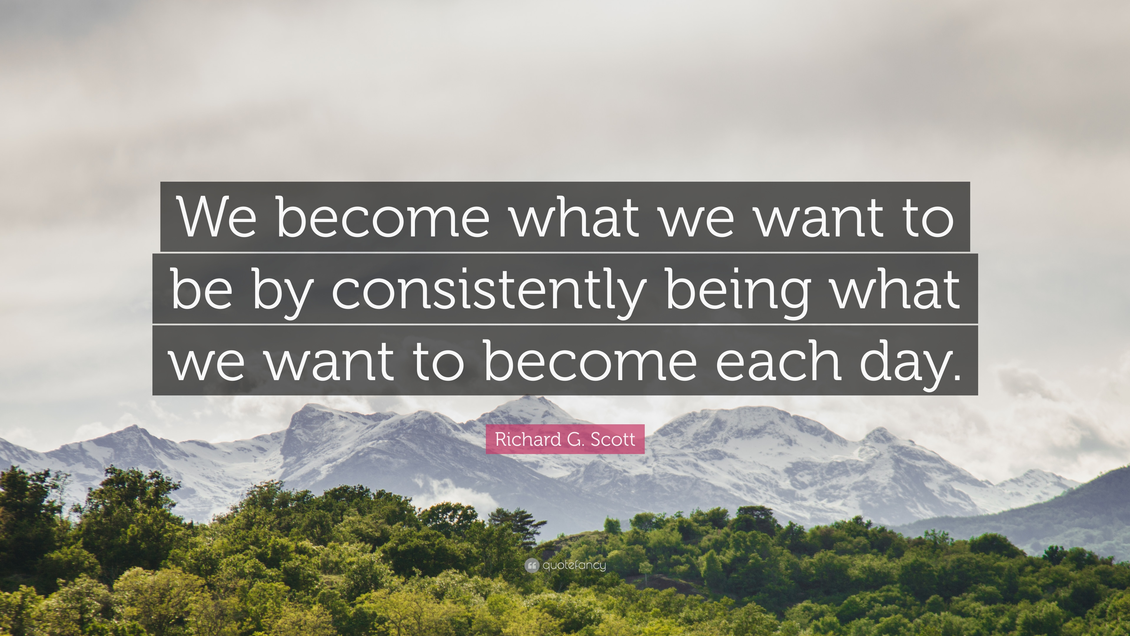 Self Improvement Quotes We Become What Want To Be By Consistently Being
