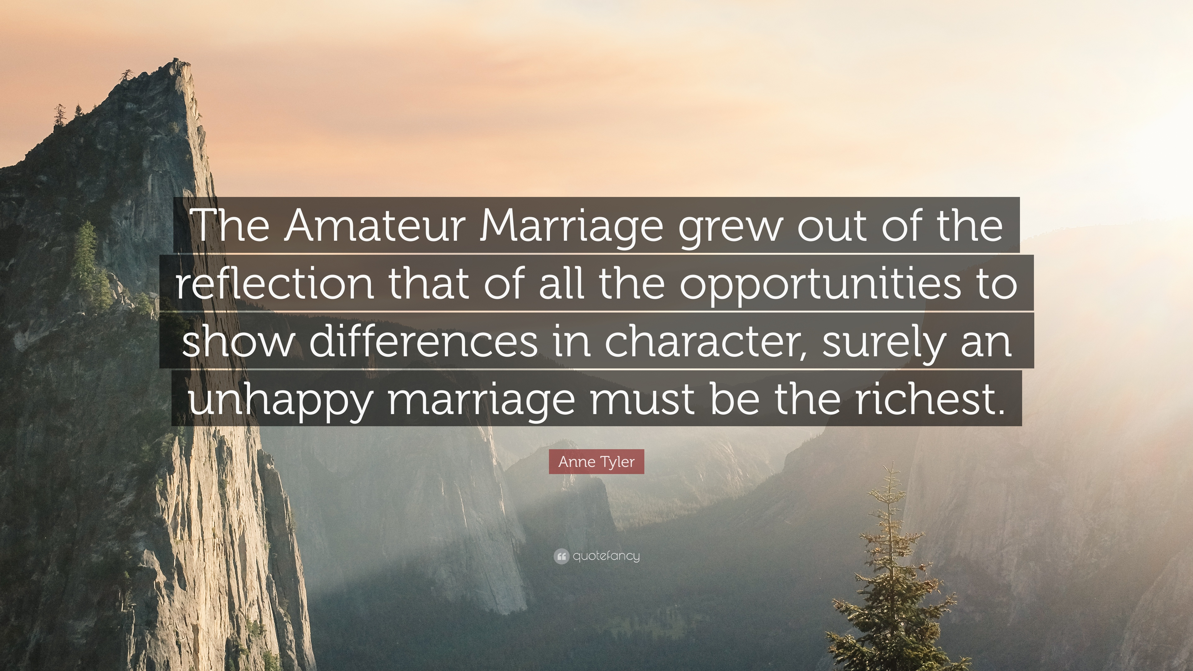 Consider, the amateur marriage