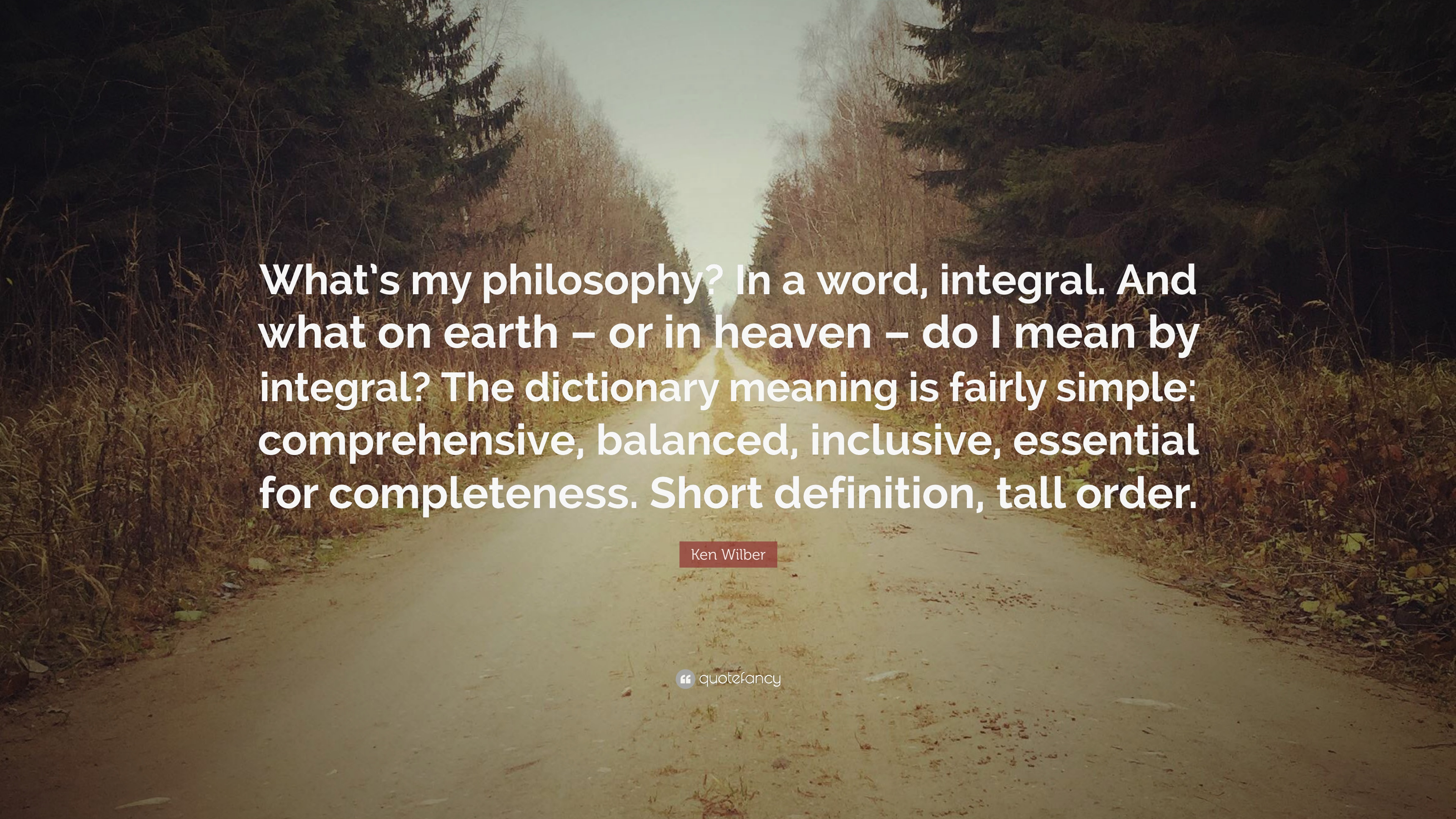 philosophy a comprehensive definition Examples where philosophical speculation plays a prominent role we conclude  by  comprehensive definition of what philosophy is or should be that is an.