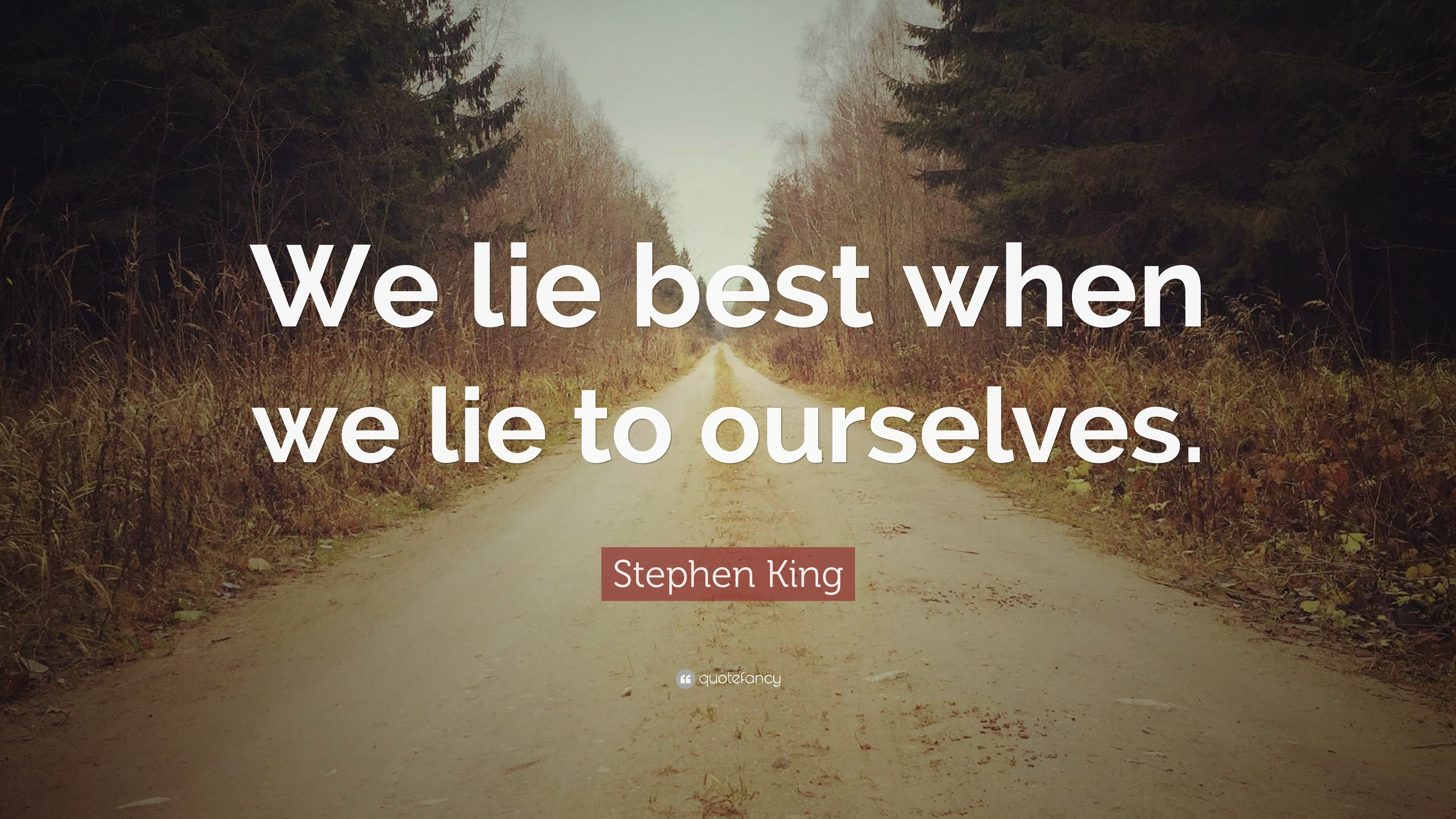 how we lie In the ways we lie, by stephanie ericsson, the author depicts the many ways humans lie and justifies the reasons for doing so there is the white lie, which is.