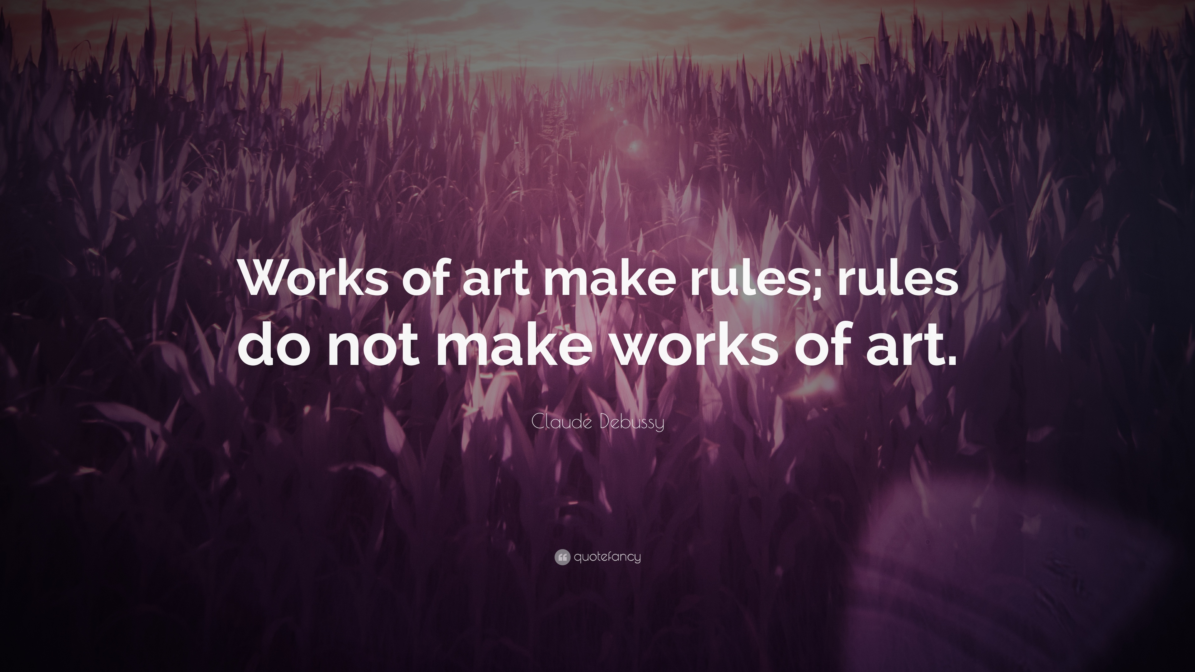 Are there rules in art?