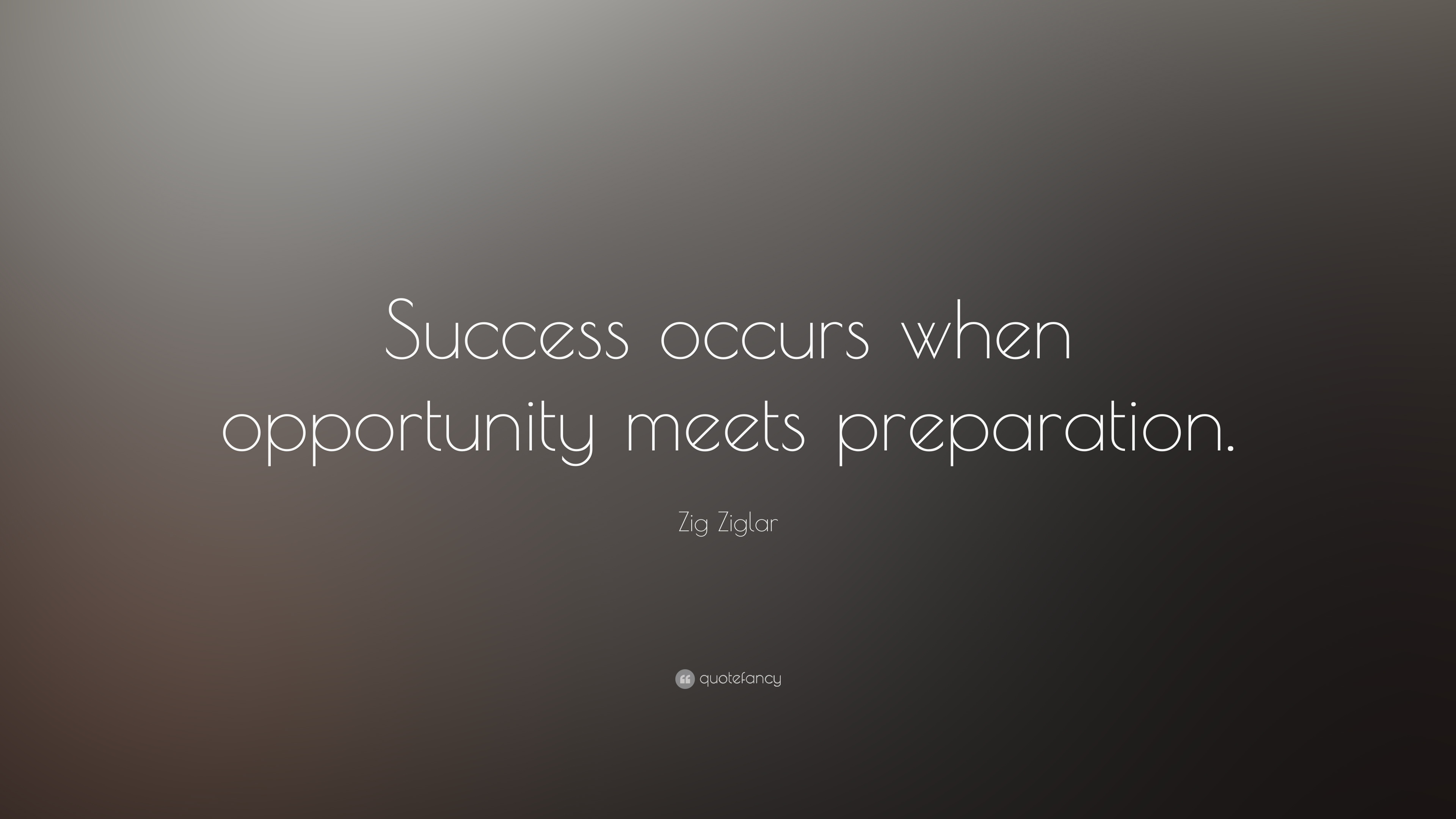 luck is a matter of preparation meeting opportunity essay